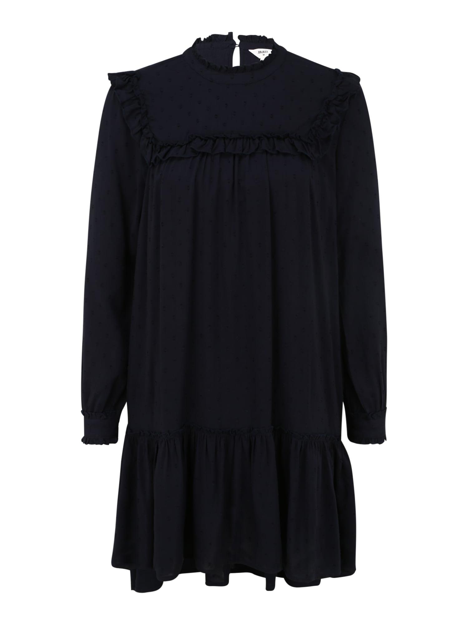 OBJECT (Petite) Suknelė tamsiai mėlyna
