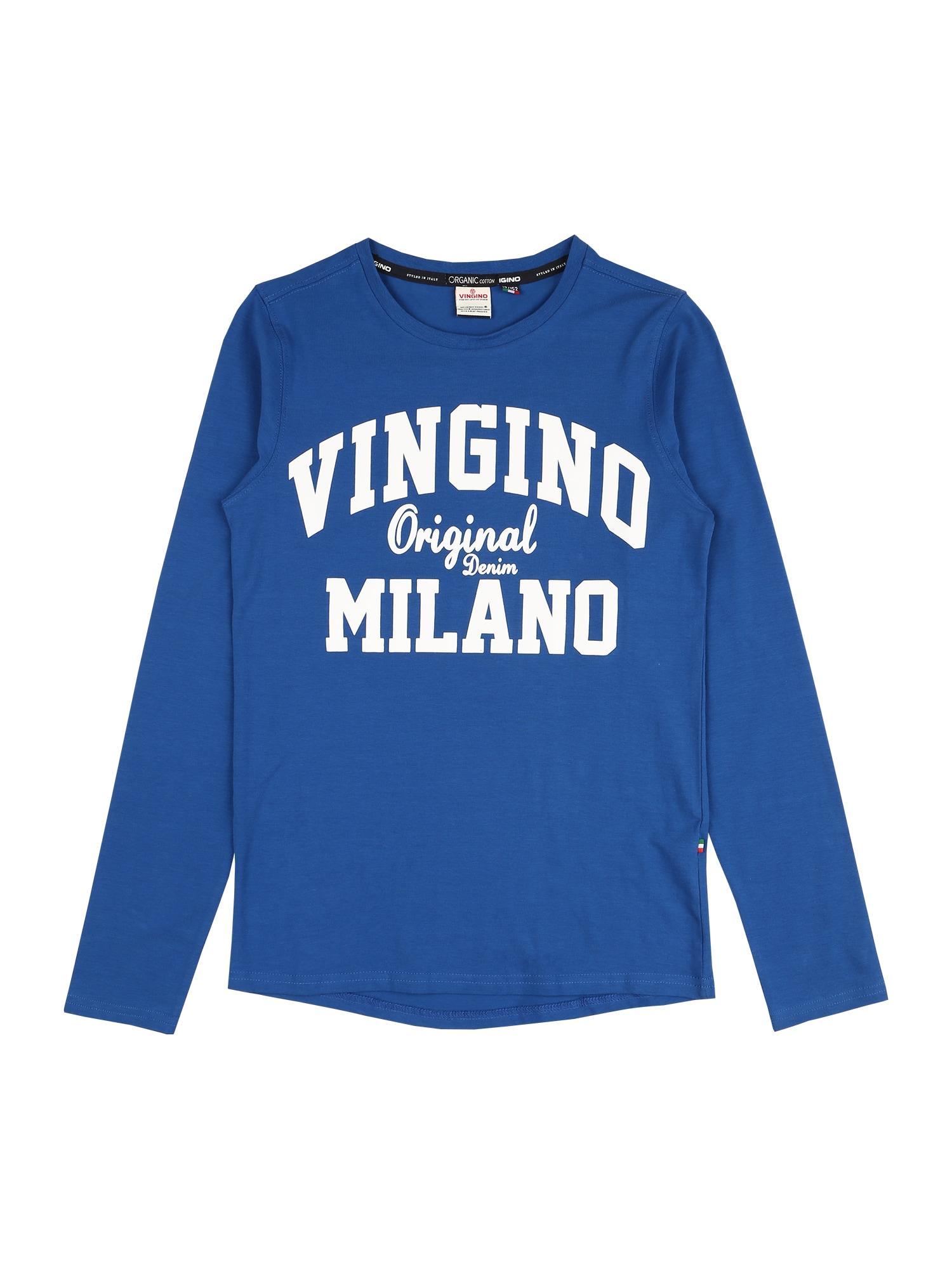 VINGINO Marškinėliai mėlyna / balta