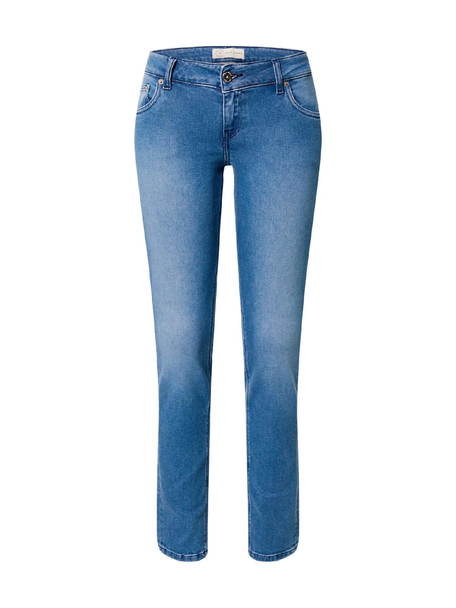 MUD Jeans Džinsai tamsiai (džinso) mėlyna