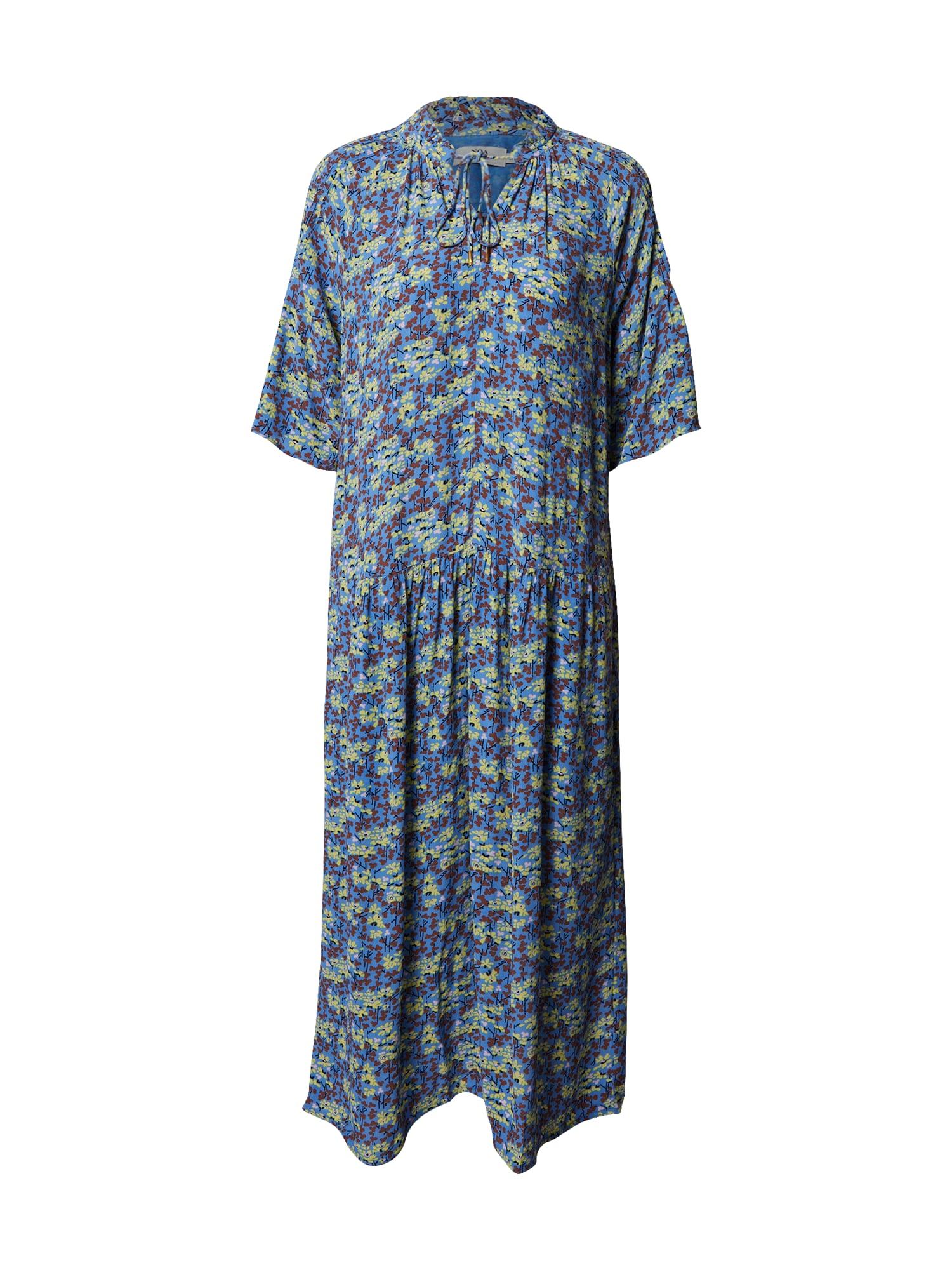 Noa Noa Vasarinė suknelė mėlyna dūmų spalva / mišrios spalvos
