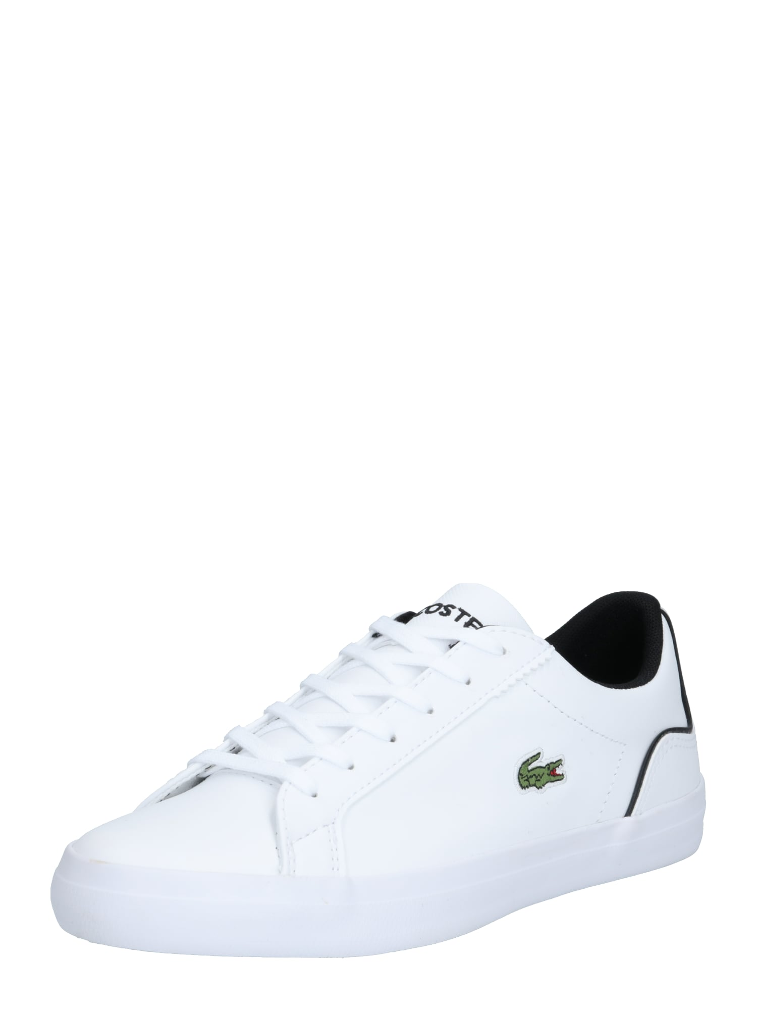 LACOSTE Nízke tenisky 'Lerond 0120'  čierna / biela