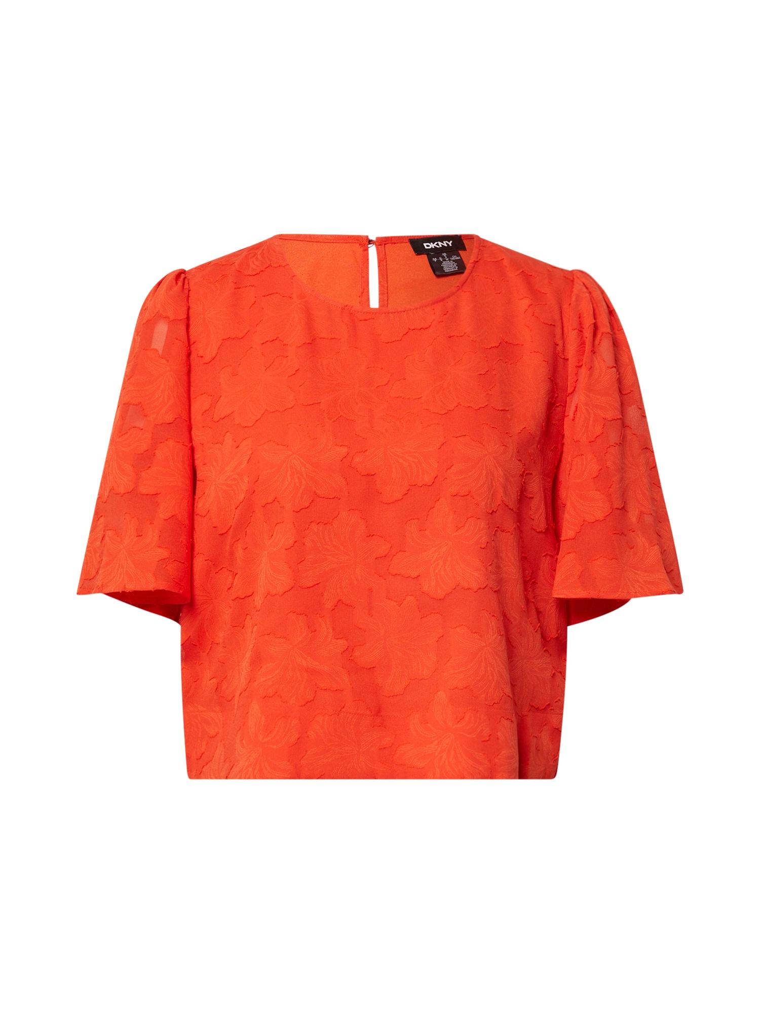 DKNY Palaidinė oranžinė-raudona