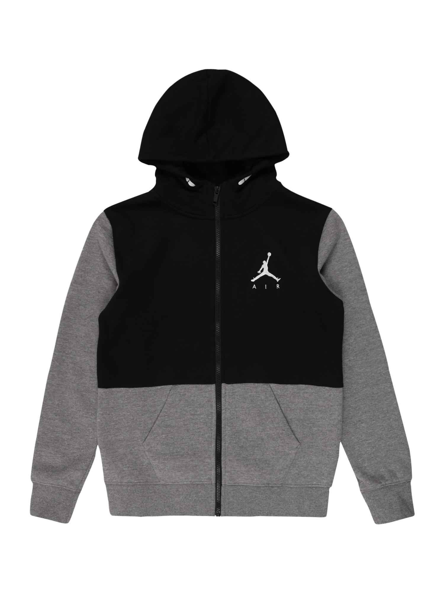 Jordan Džemperis pilka / juoda