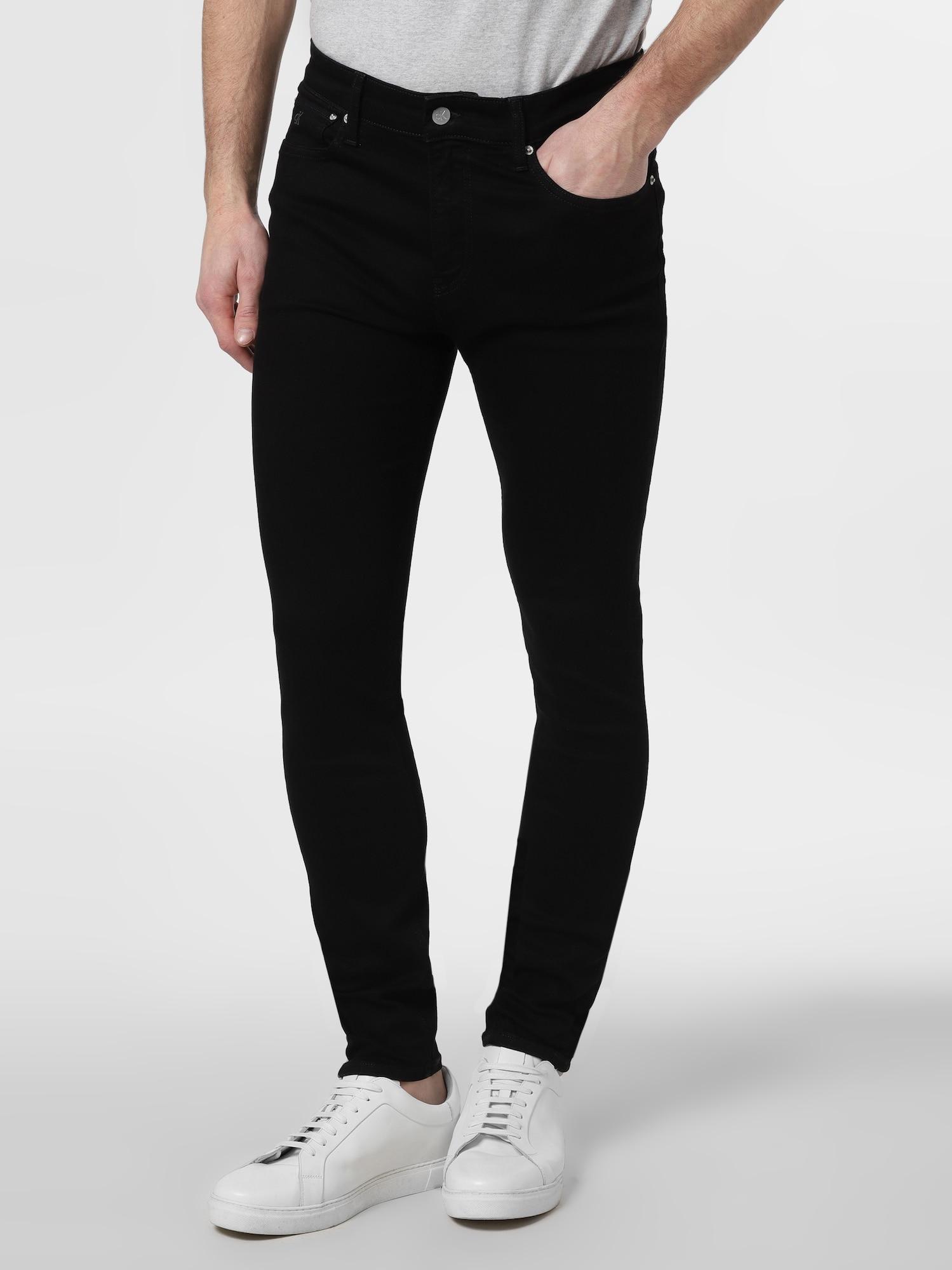 Calvin Klein Jeans Džinsai juoda