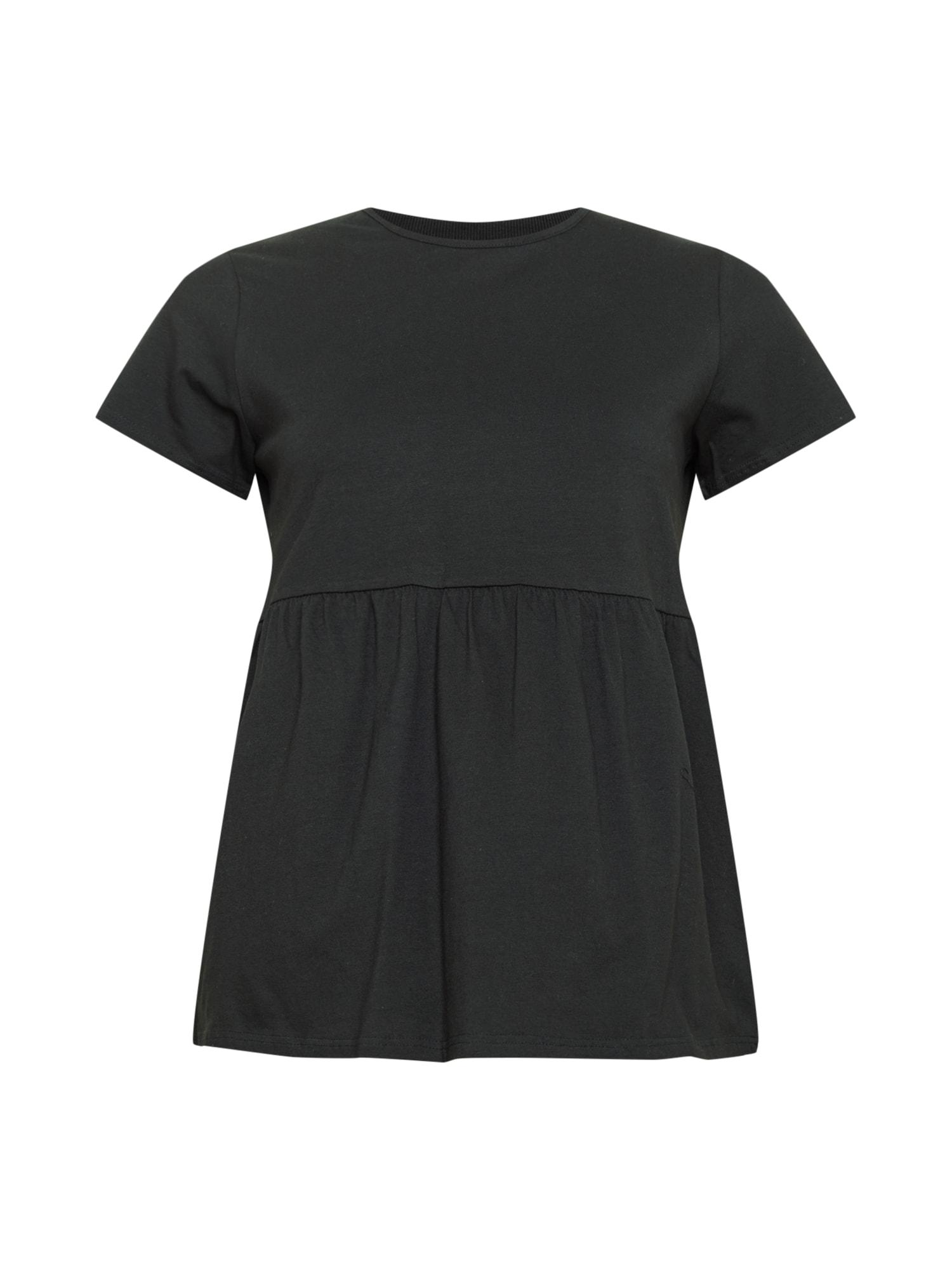 Missguided Plus Marškinėliai juoda