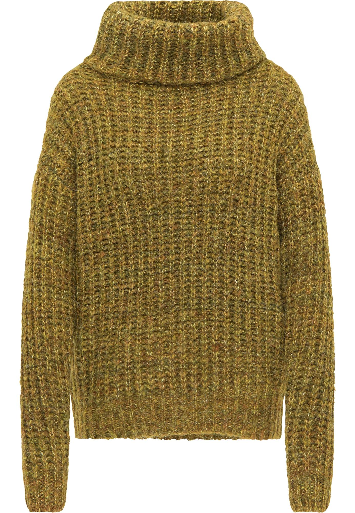 usha FESTIVAL Laisvas megztinis alyvuogių spalva