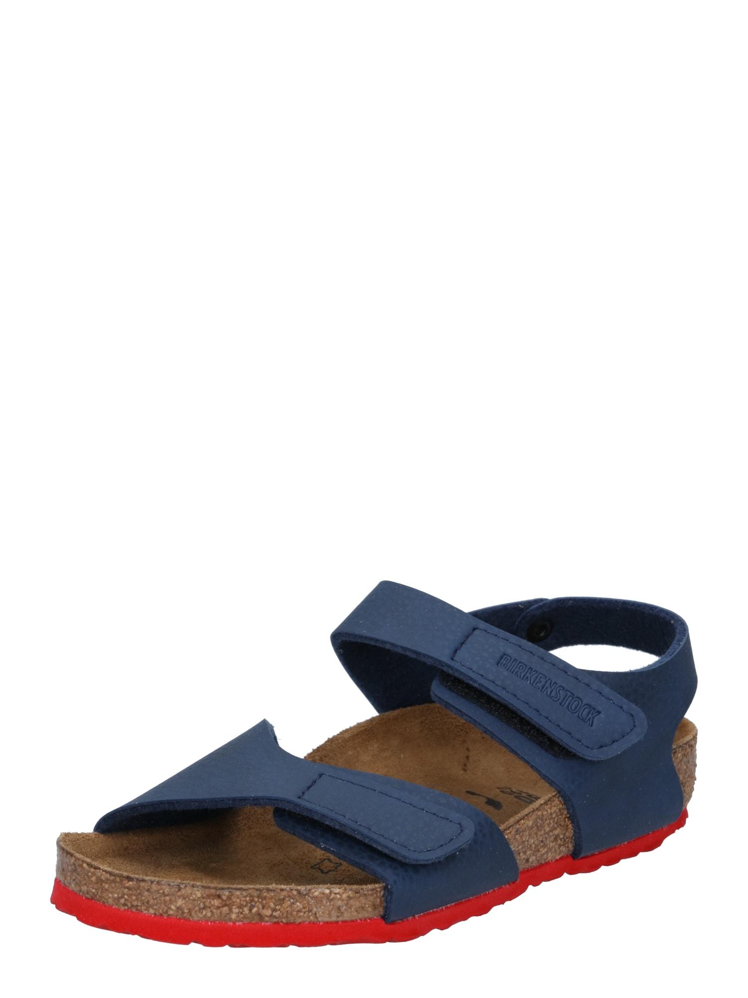 BIRKENSTOCK Atviri batai 'Palu' mėlyna