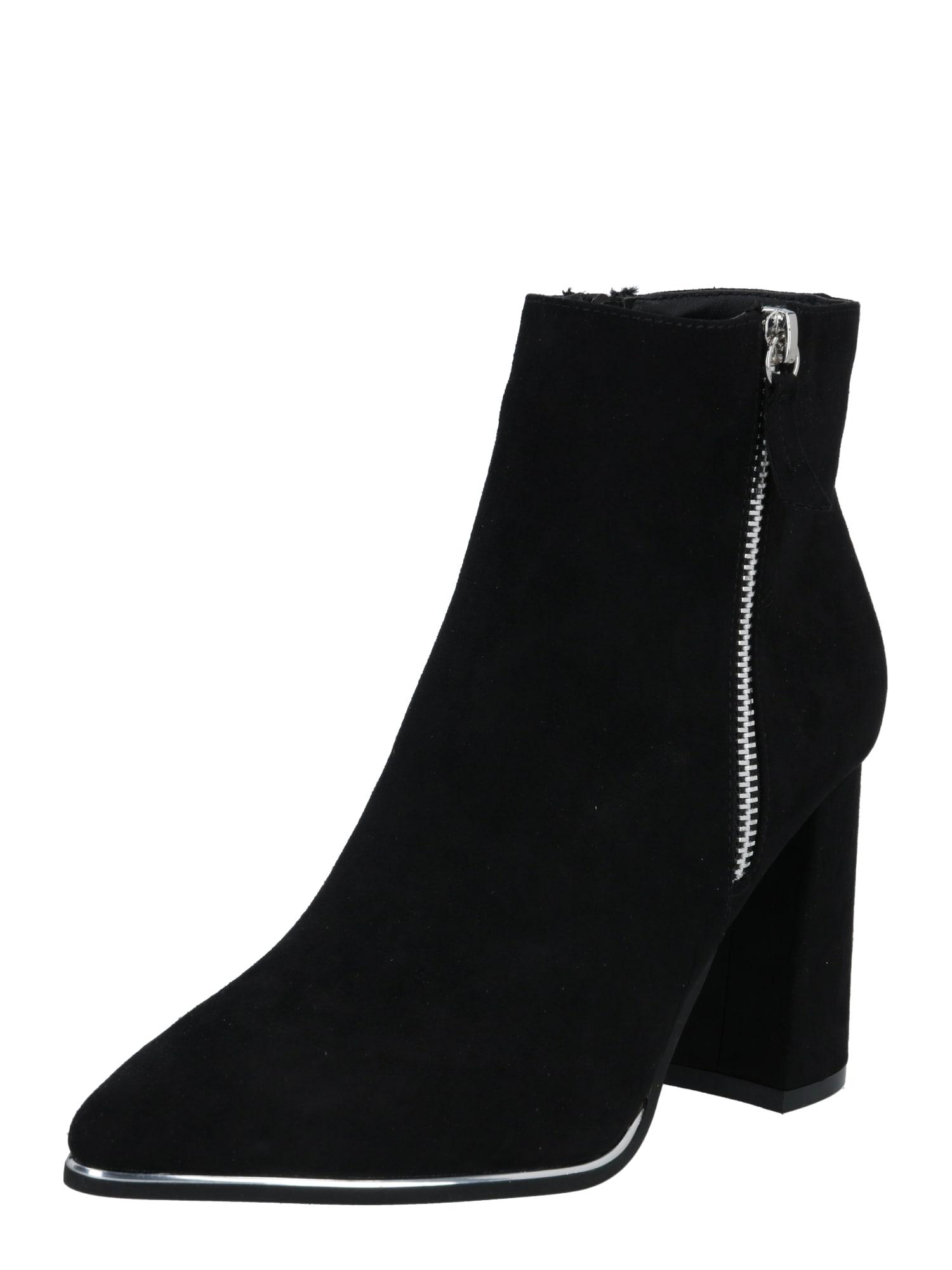 Dorothy Perkins Kotníkové boty  černá
