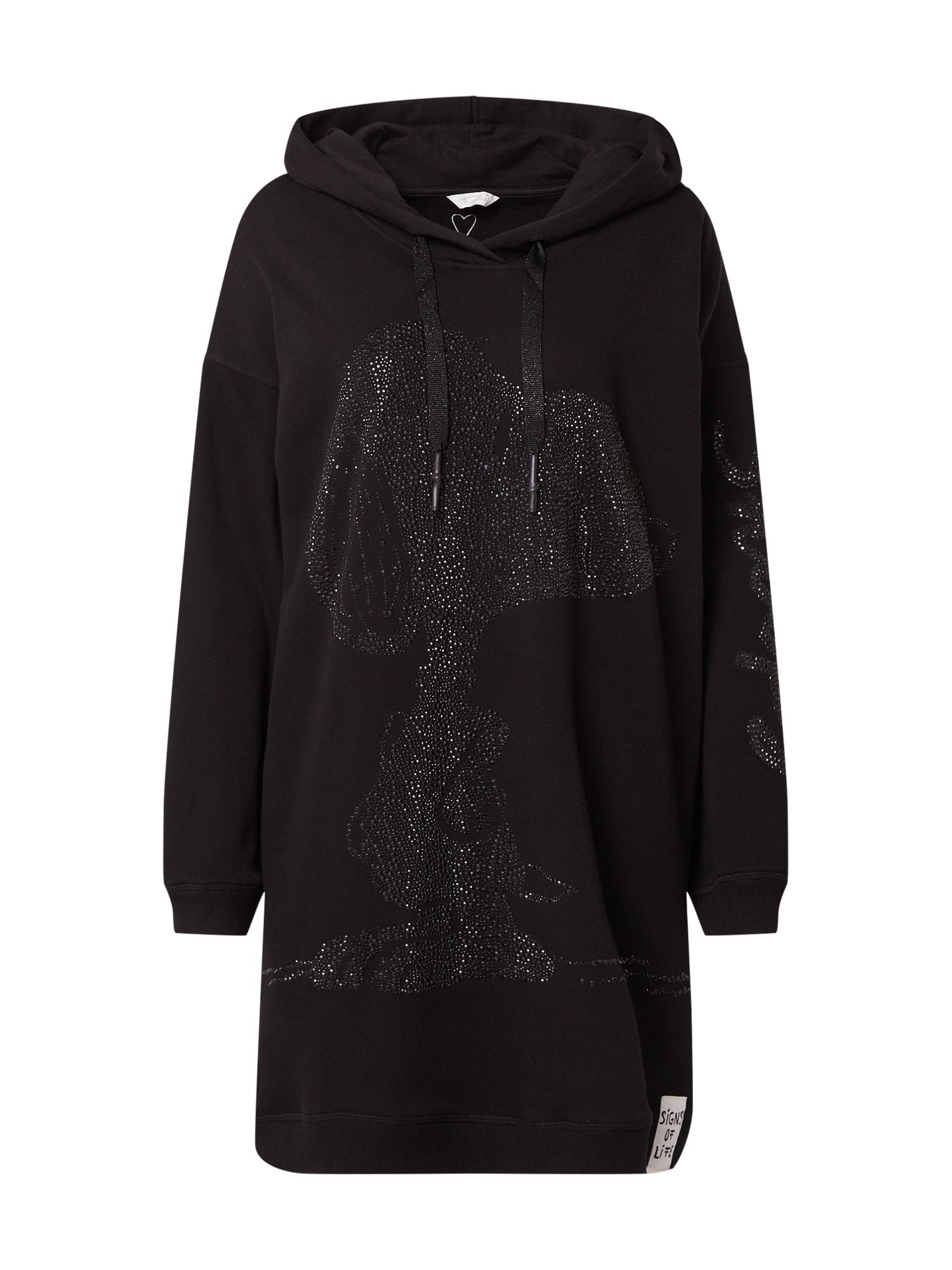 Frogbox Suknelė juoda