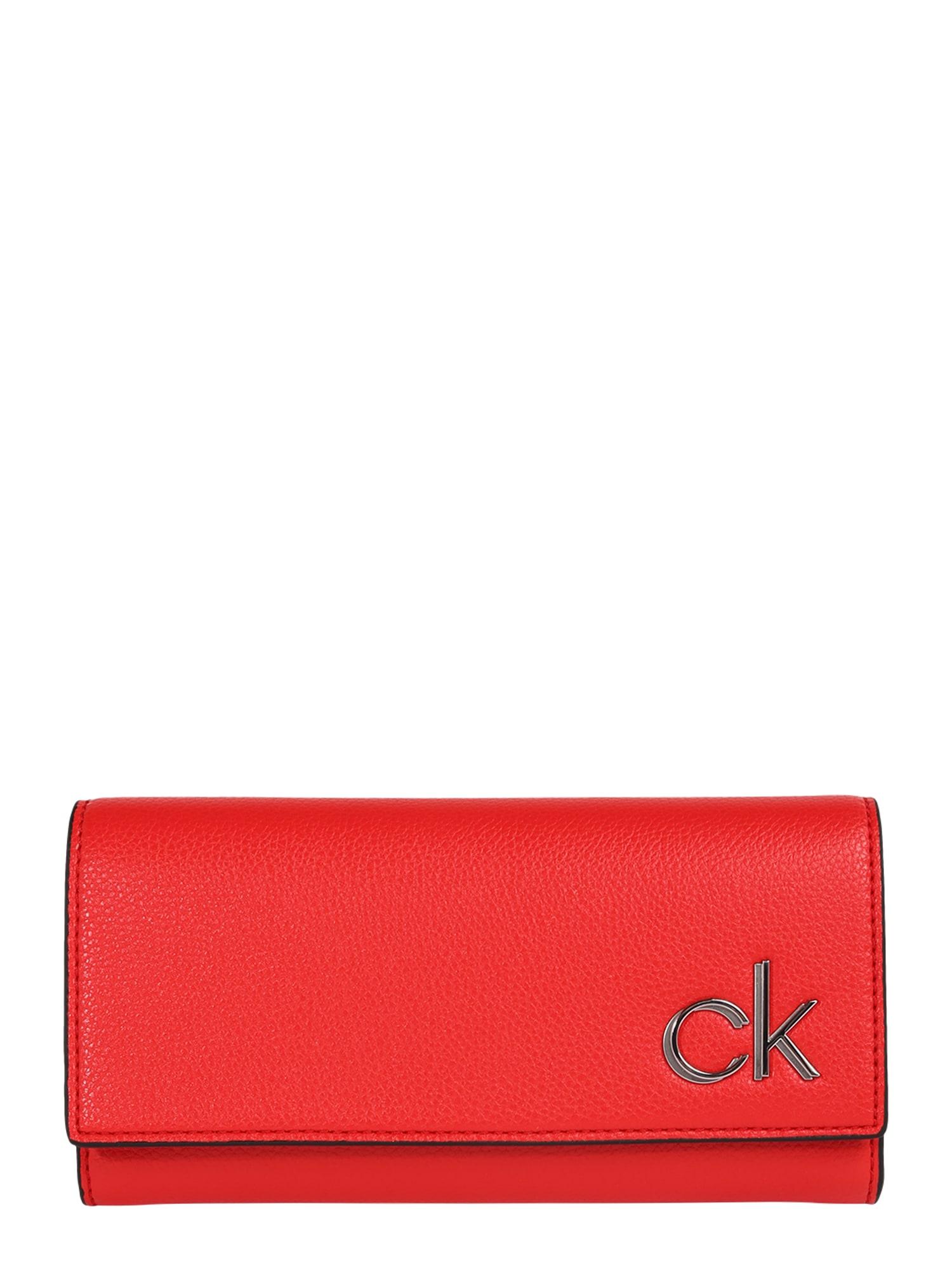 Calvin Klein Peněženka  oranžově červená