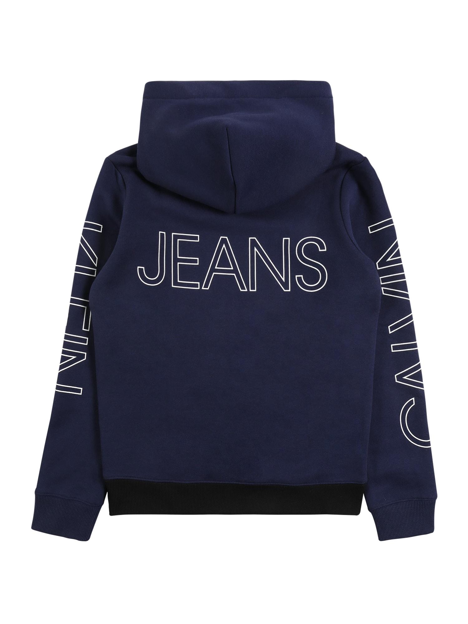 Calvin Klein Jeans Sweatshirt  marinblå