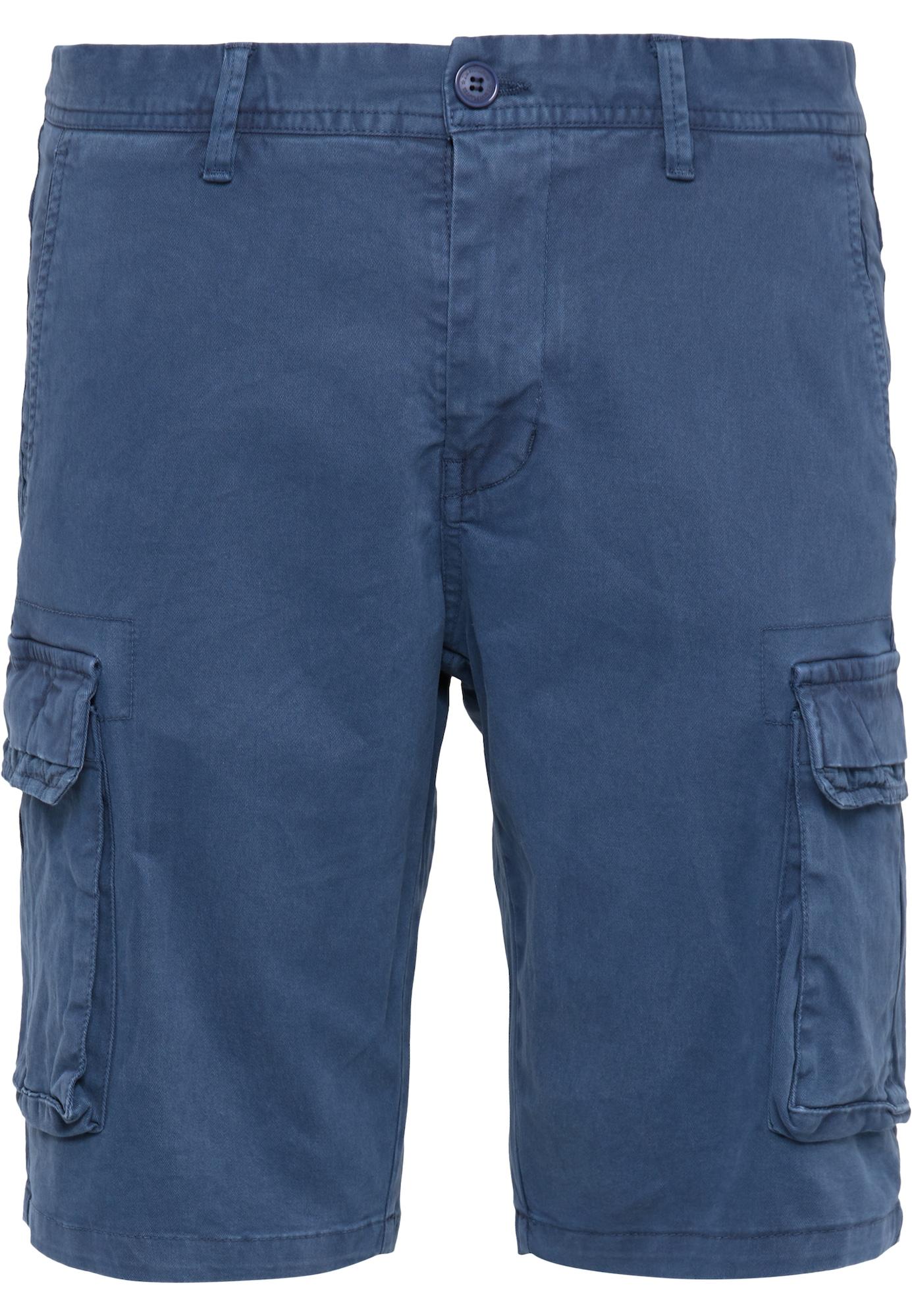 DreiMaster Vintage Laisvo stiliaus kelnės tamsiai mėlyna jūros spalva