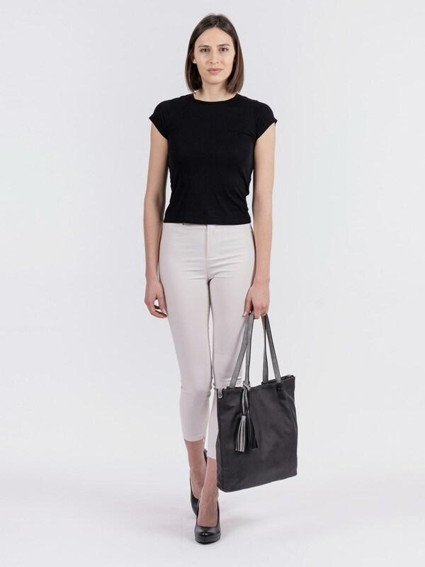 Diese Bag-in-Bag Schultertasche von Emily & Noah aus Kunstleder eignet sich perfekt für Büro oder Freizeit. Elegantes Design und durchdachte Funktionalität machen die Tasche zum echten Hingucker. Mit herausnehmbarer Innentasche, die auch separat als Umhängetasche getragen werden kann, sowie abnehmbarem Umhängeriemen ausgestattet.