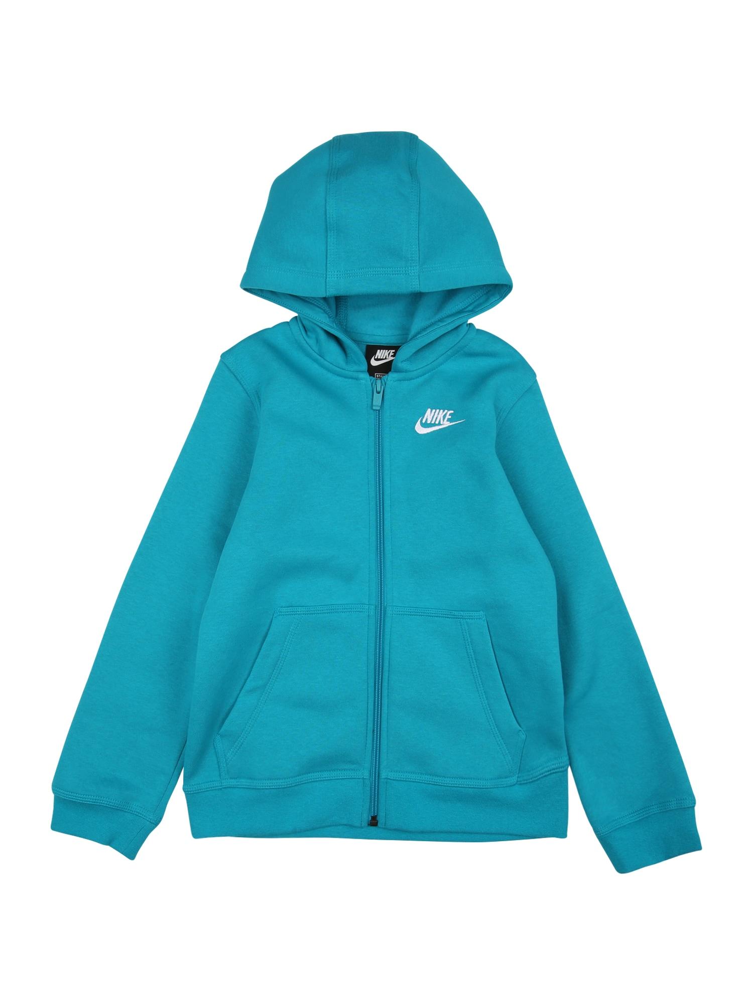 Nike Sportswear Džemperis balta / vandens spalva