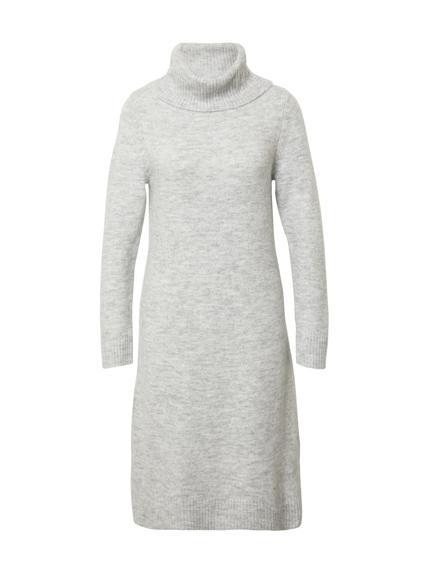 Cartoon Megzta suknelė margai pilka