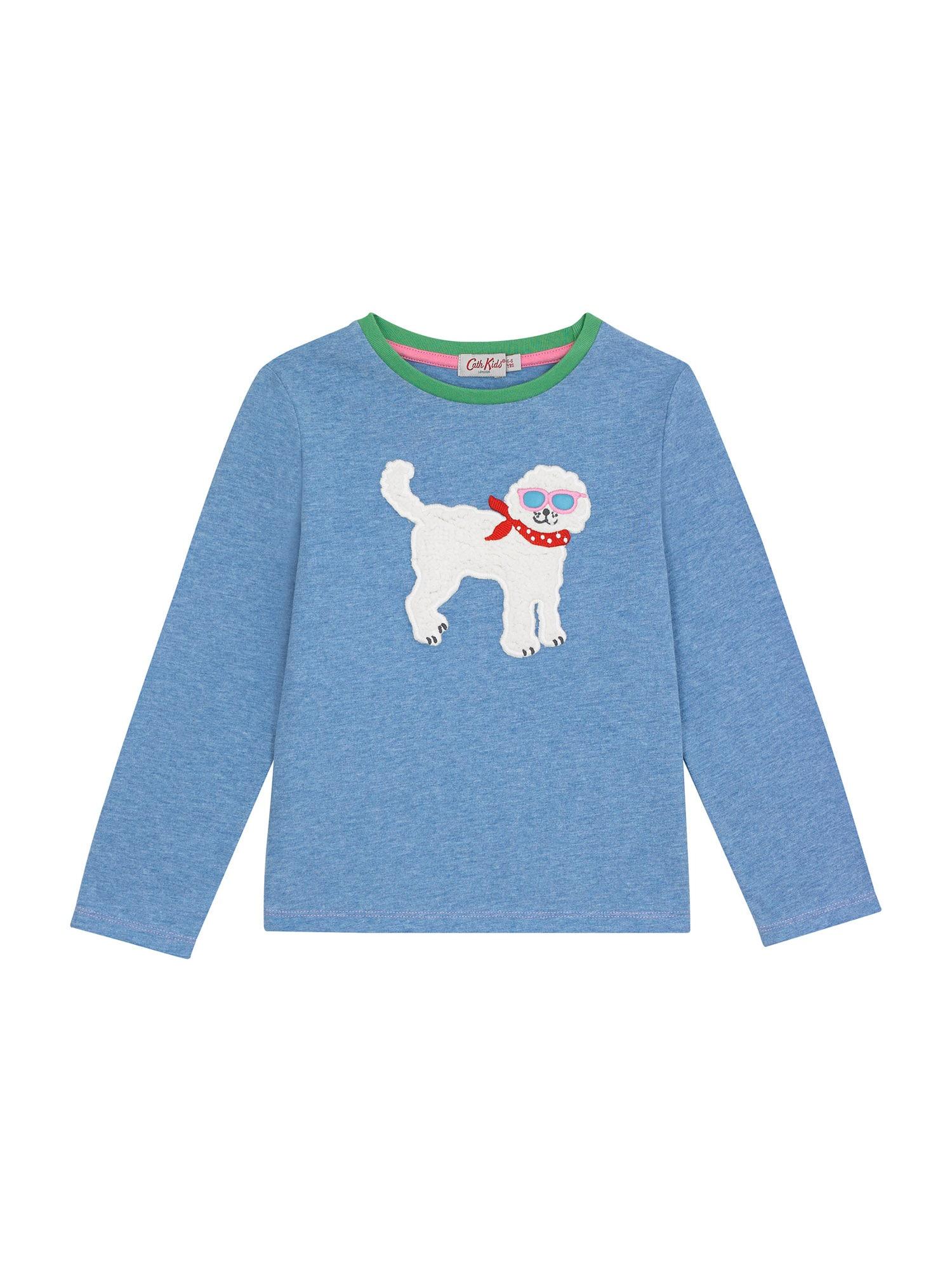 Cath Kidston Marškinėliai margai mėlyna / balta / raudona / žalia / rožių spalva