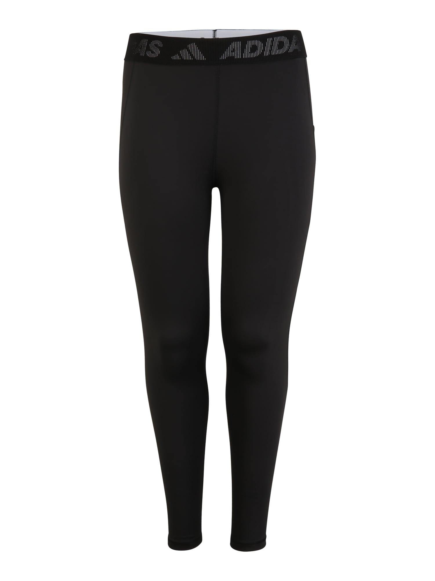 ADIDAS PERFORMANCE Sportovní kalhoty 'TF L 3 BAR T PS'  černá