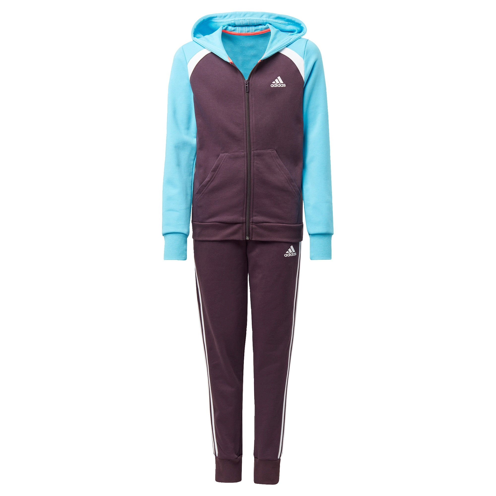 ADIDAS PERFORMANCE Treniruočių kostiumas mėlyna / purpurinė