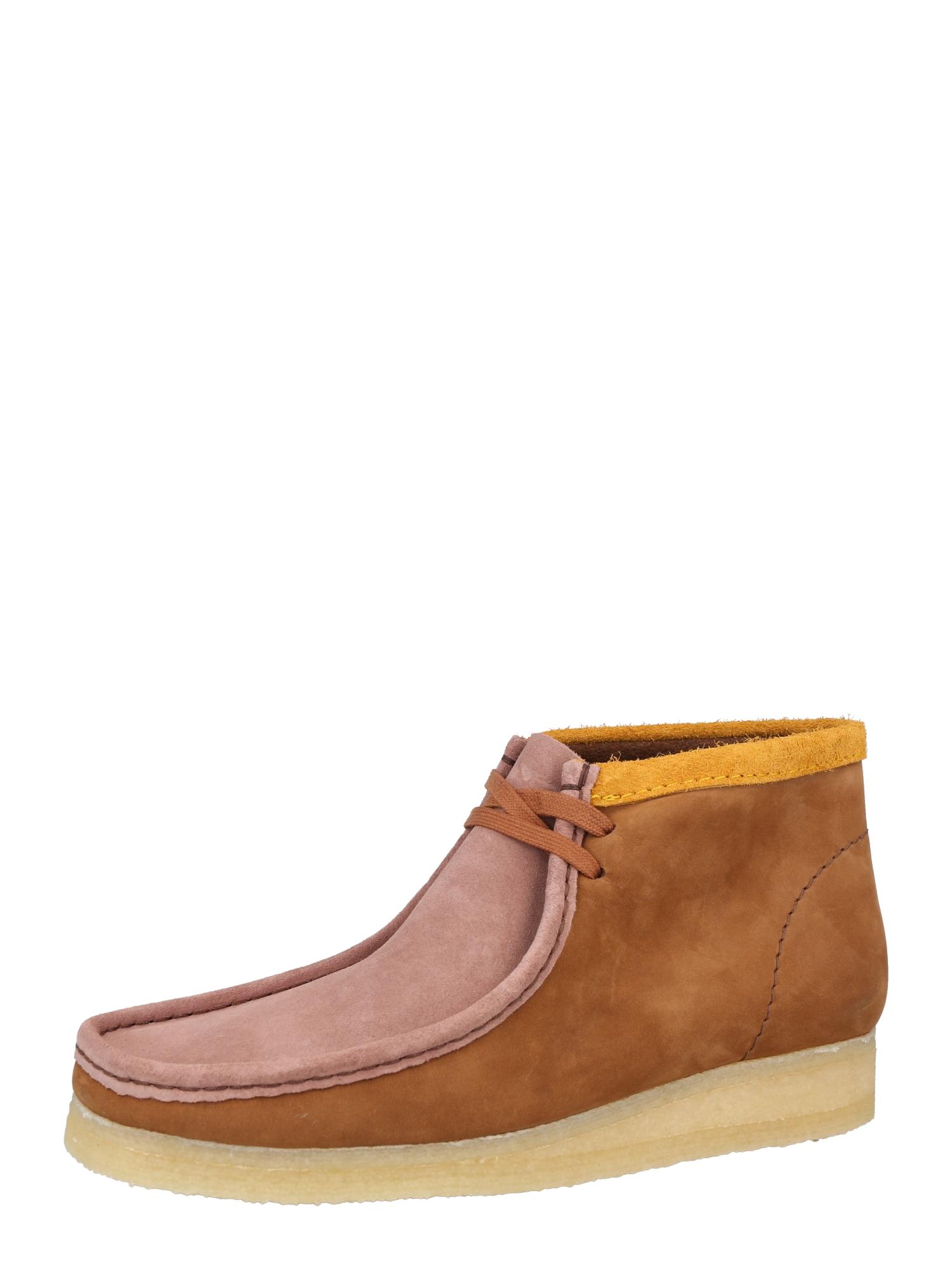 Clarks Originals Kotníkové boty 'Wallabee'  hnědá