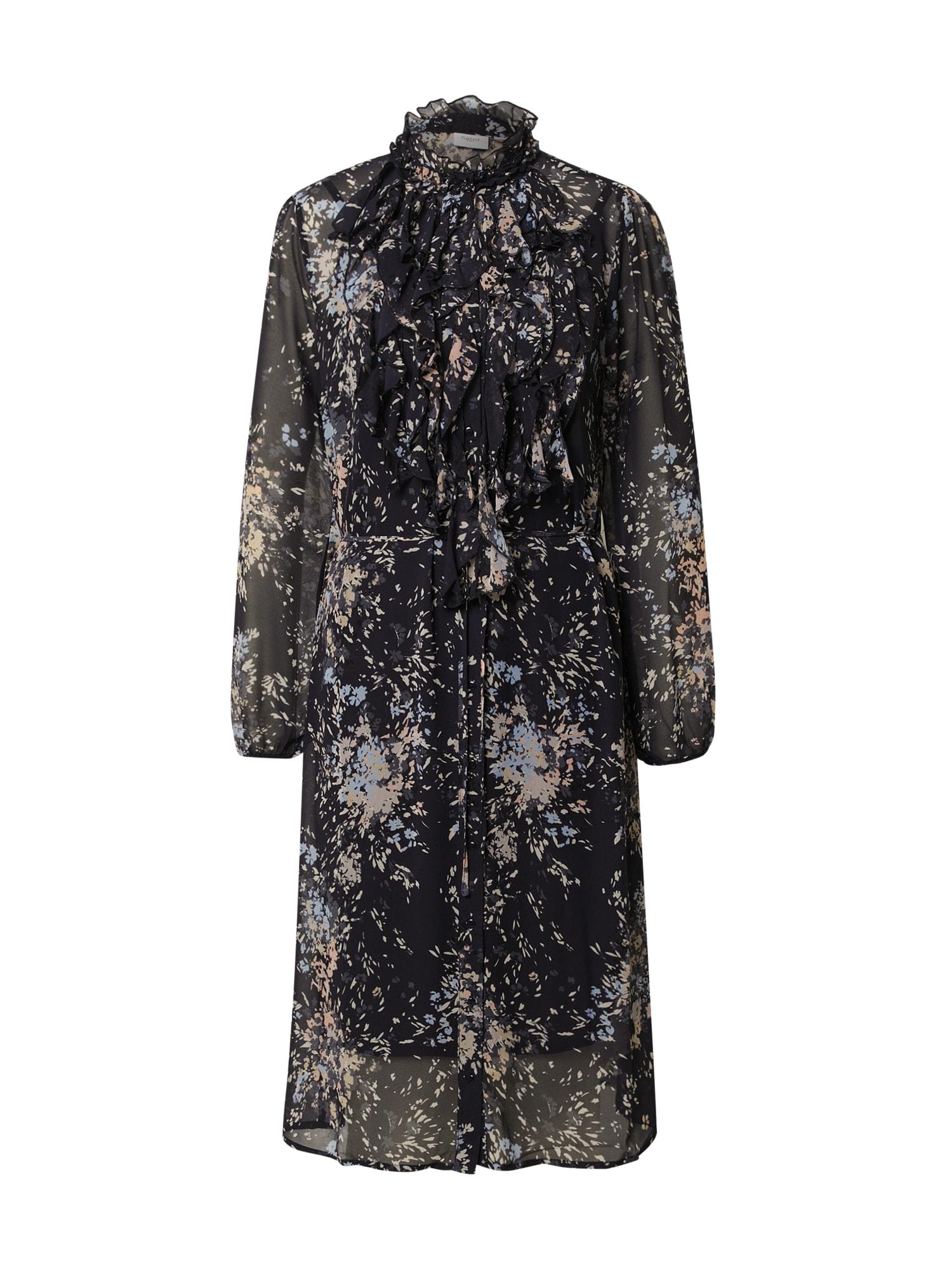 SAINT TROPEZ Palaidinės tipo suknelė nakties mėlyna / mišrios spalvos