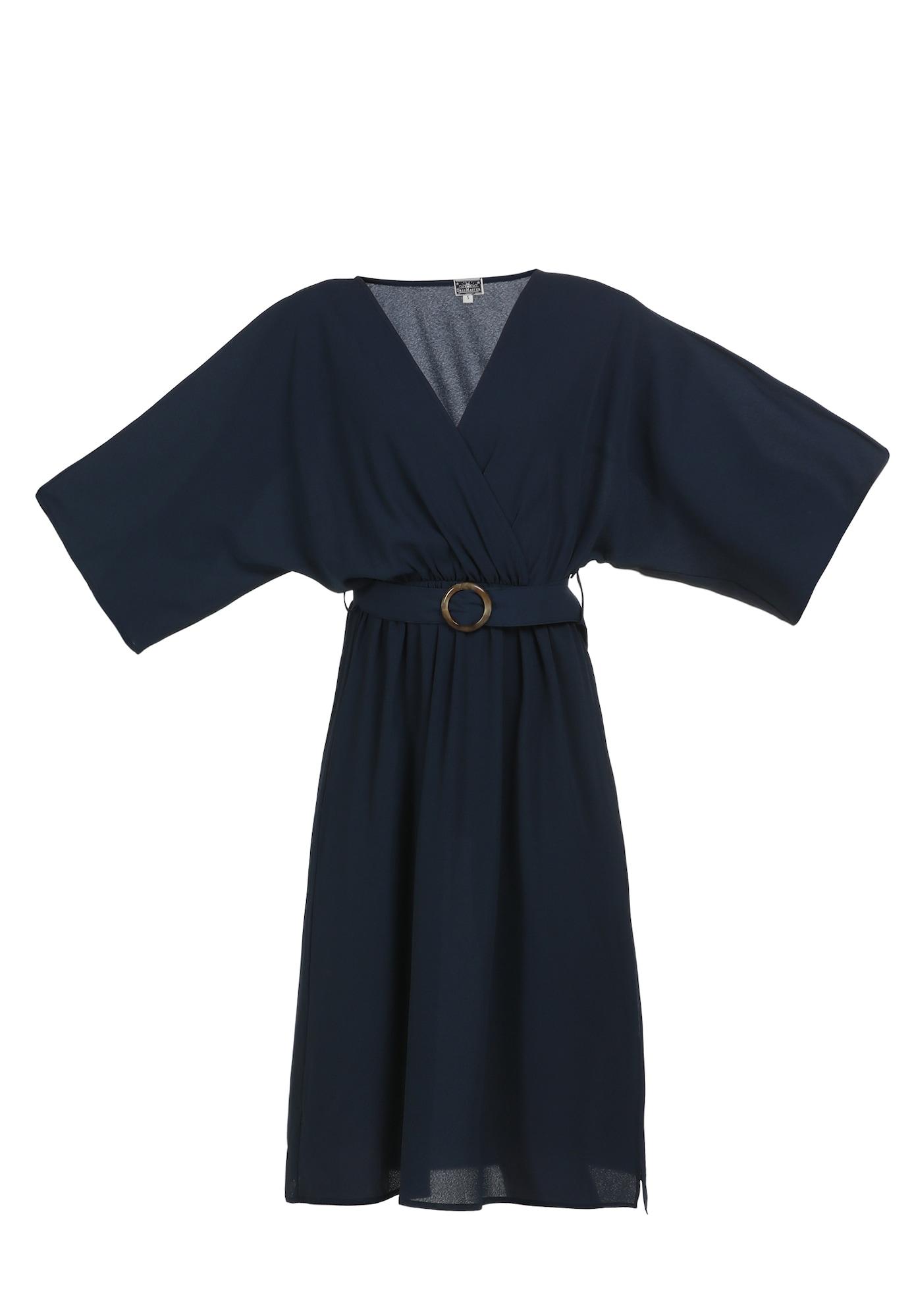 DreiMaster Maritim Suknelė tamsiai mėlyna jūros spalva