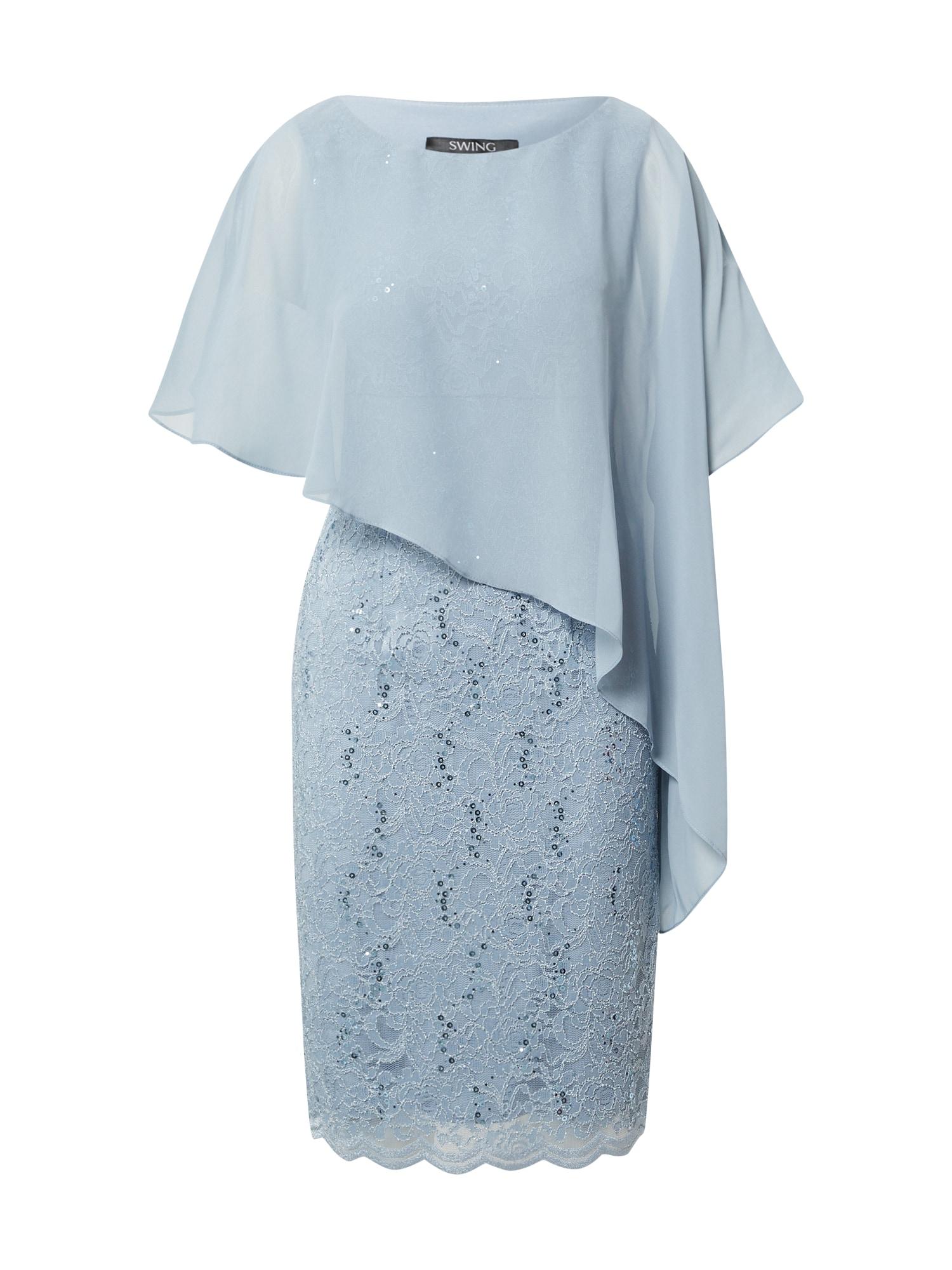 SWING Suknelė šviesiai mėlyna