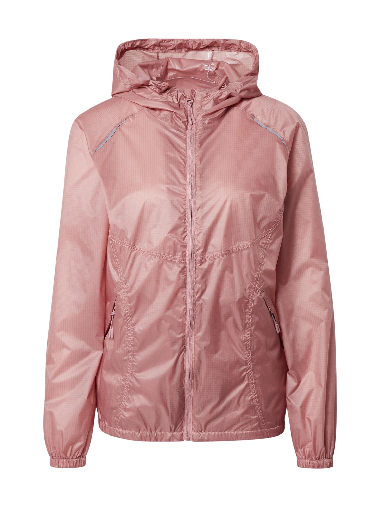 ESPRIT SPORT Sportinė striukė ryškiai rožinė spalva