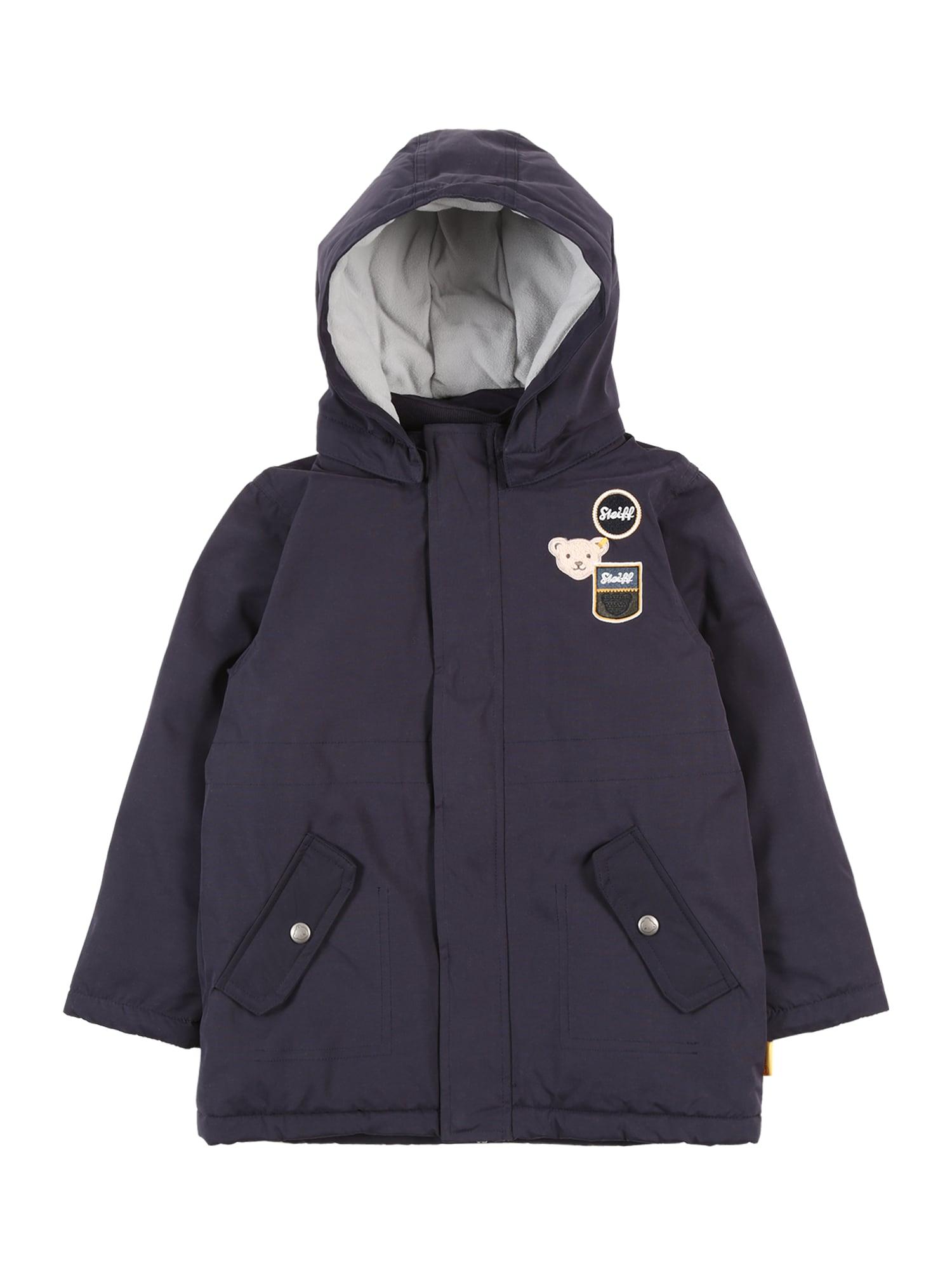 Steiff Collection Žieminė striukė tamsiai mėlyna jūros spalva