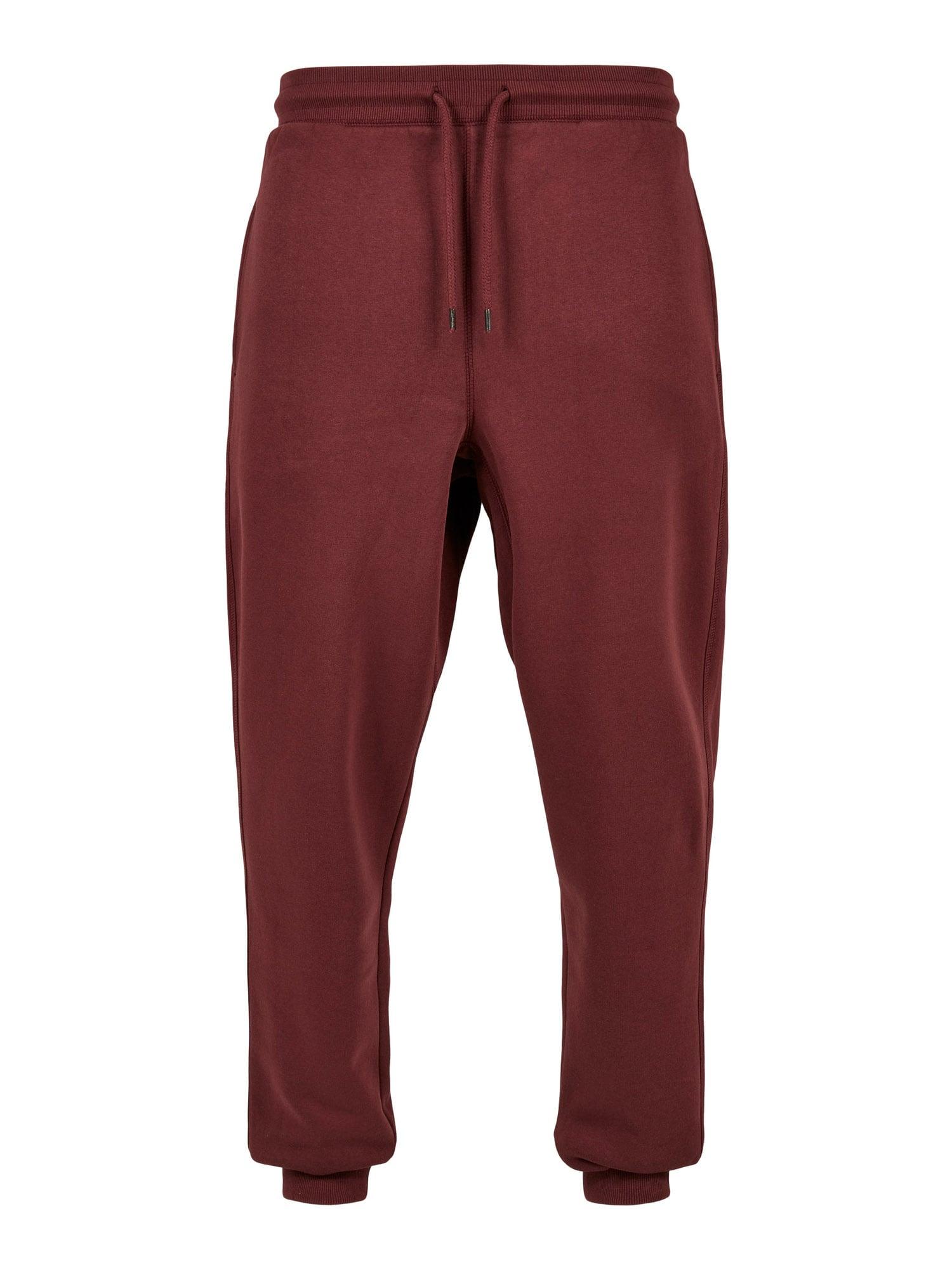 Urban Classics Kalhoty  červená třešeň