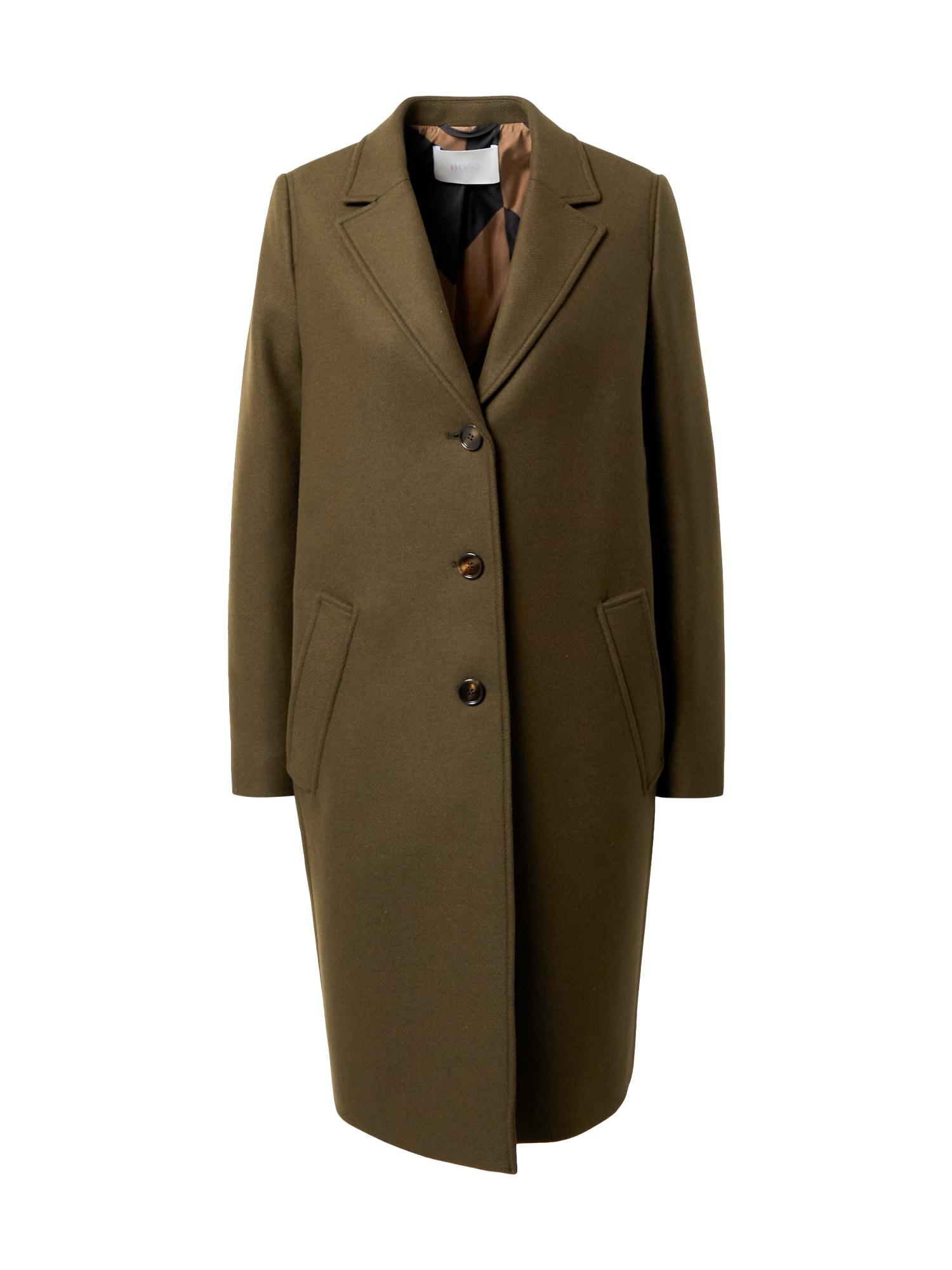 BOSS Demisezoninis paltas 'C_Coluise' žalia