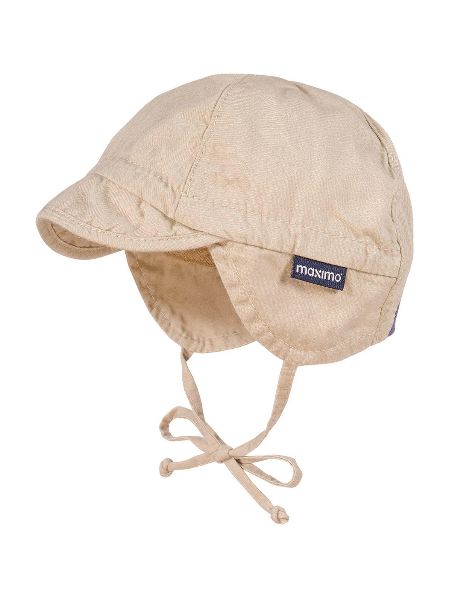 MAXIMO Megzta kepurė smėlio
