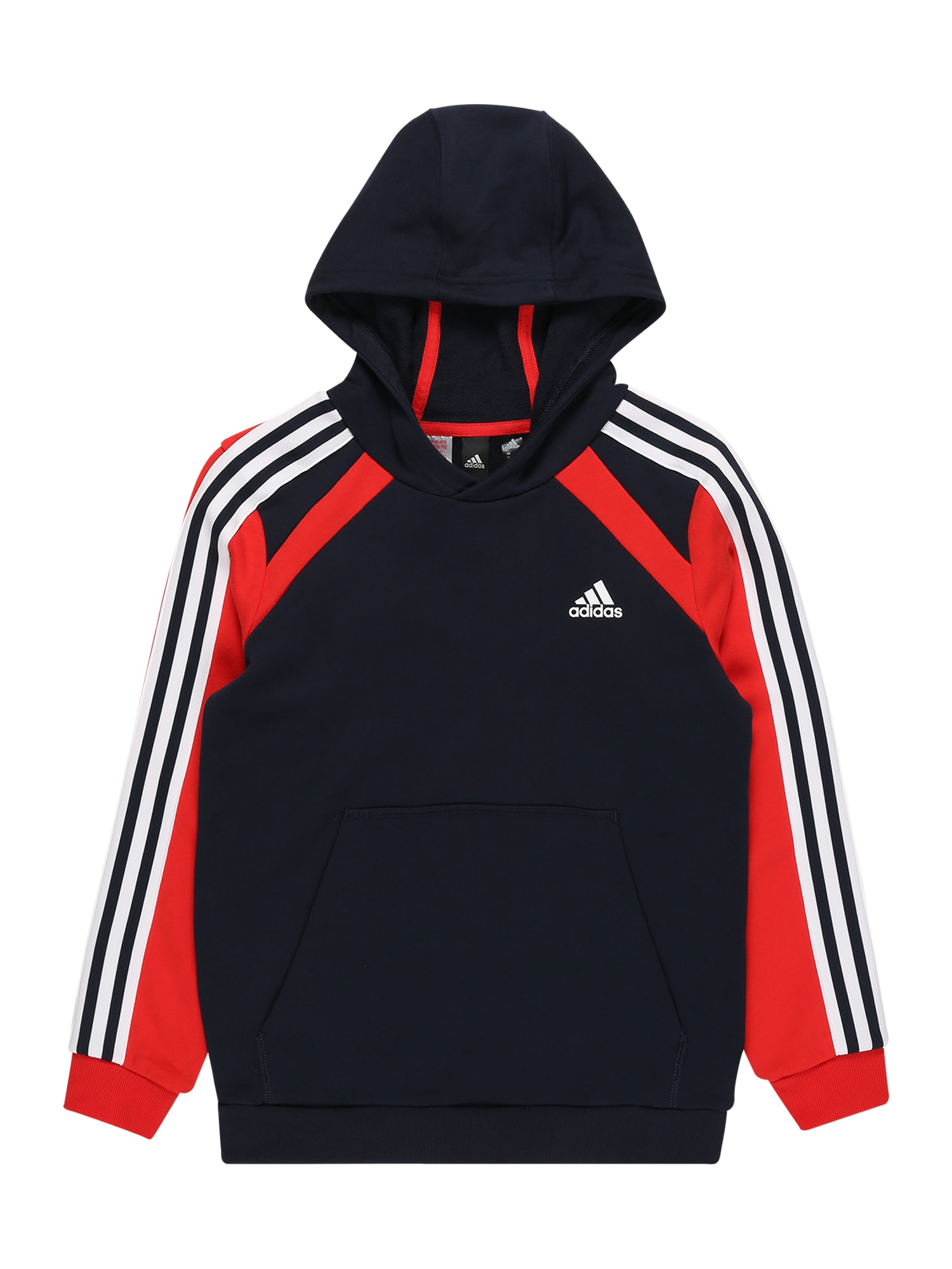 ADIDAS PERFORMANCE Sportinio tipo megztinis tamsiai mėlyna jūros spalva / balta / raudona