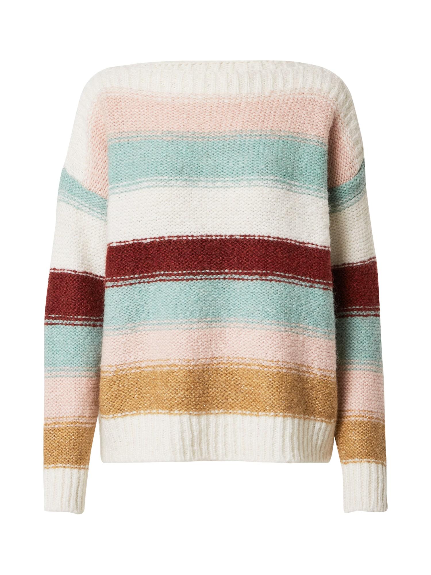 MORE & MORE Megztinis mišrios spalvos / pudros spalva / kremo / rožinė