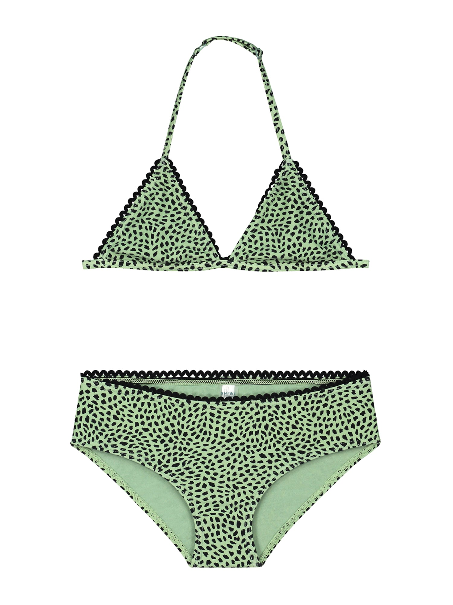 Shiwi Bikinis žalia / juoda
