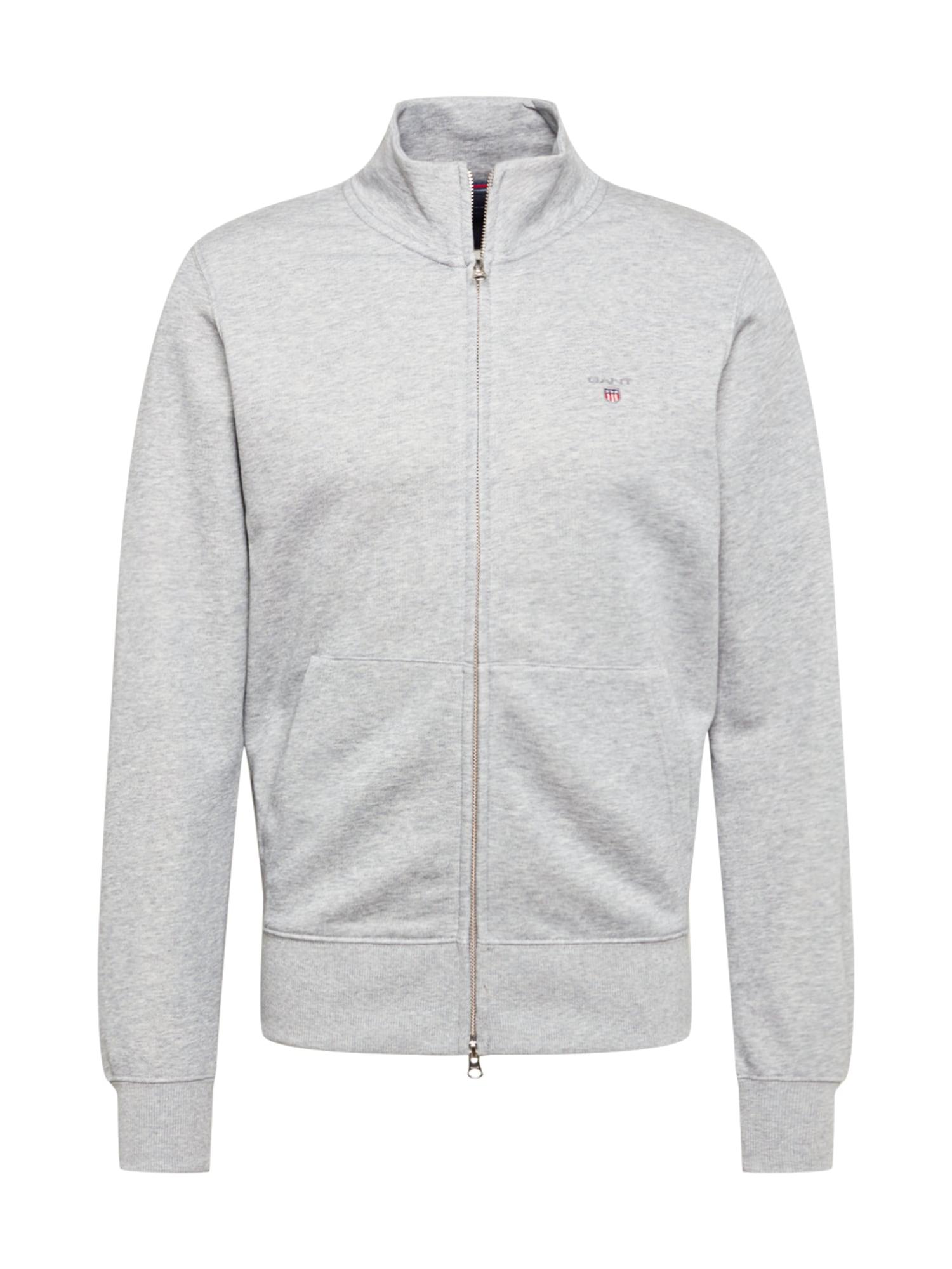 GANT Džemperis šviesiai pilka / mėlyna / raudona / balta