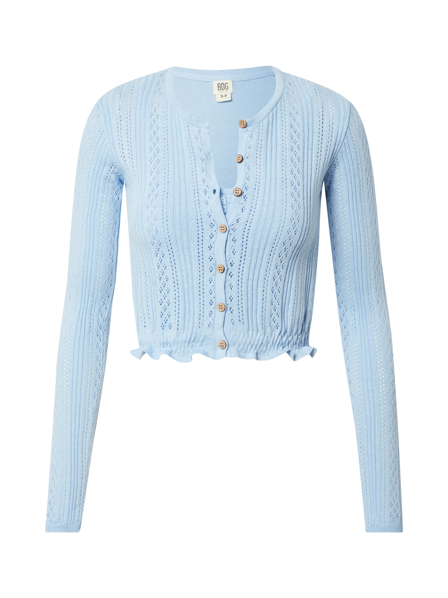 BDG Urban Outfitters Kardiganas šviesiai mėlyna