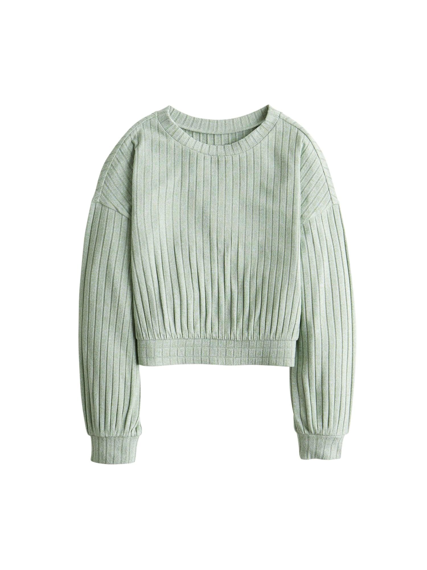 HOLLISTER Pižaminiai marškinėliai pastelinė žalia