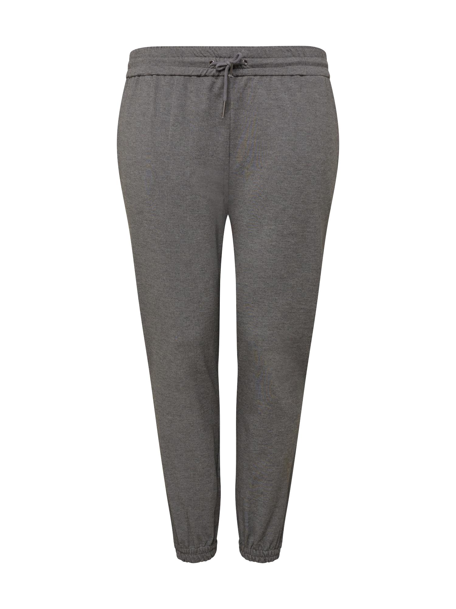 Vero Moda Curve Kalhoty 'Eva'  šedý melír