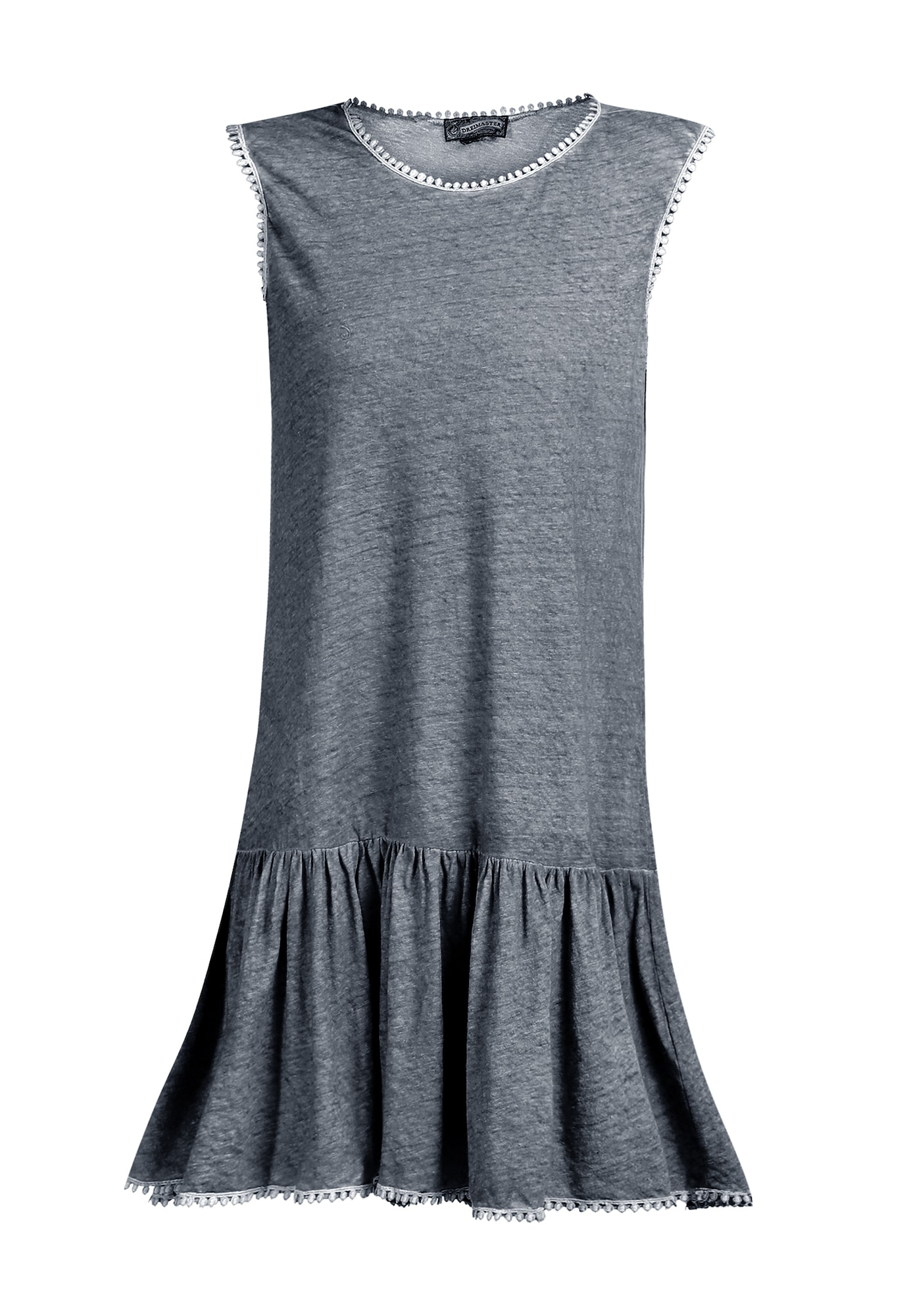 DreiMaster Vintage Vasarinė suknelė melsvai pilka
