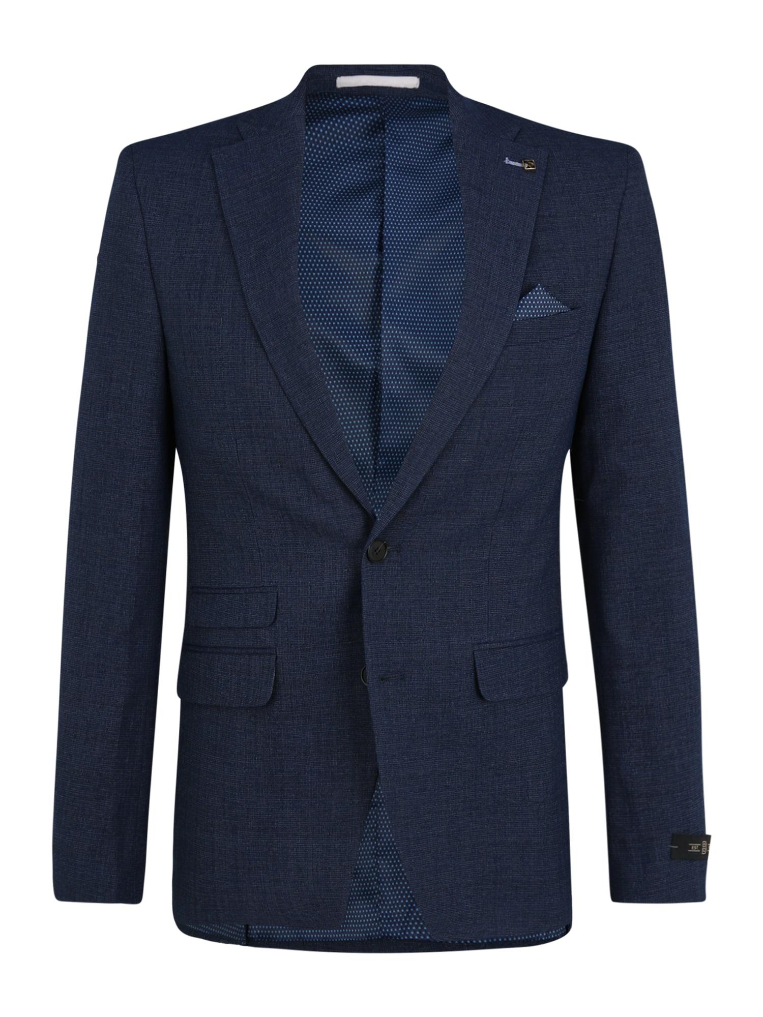 BURTON MENSWEAR LONDON Dalykinio stiliaus švarkas tamsiai (džinso) mėlyna
