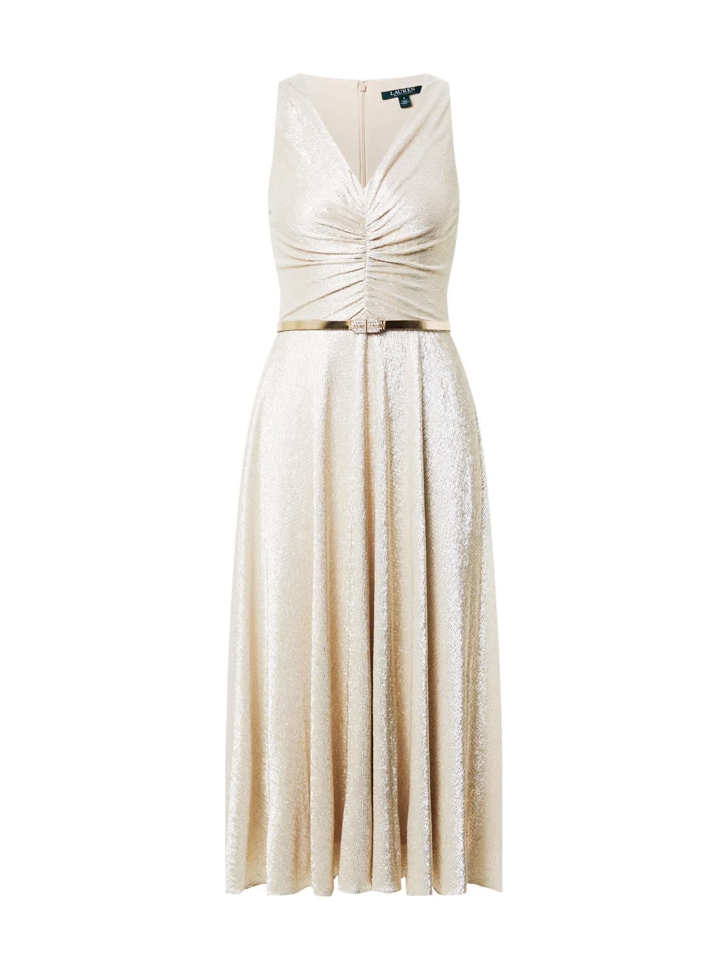 Lauren Ralph Lauren Kokteilinė suknelė smėlio