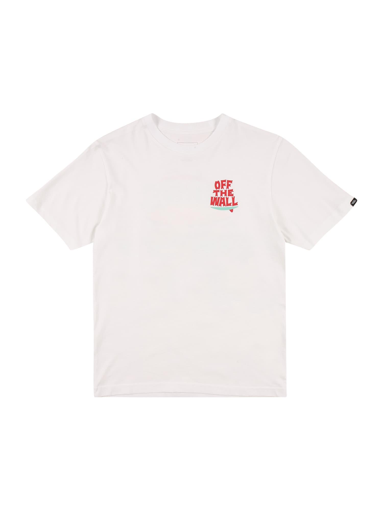 VANS Marškinėliai balta / mišrios spalvos