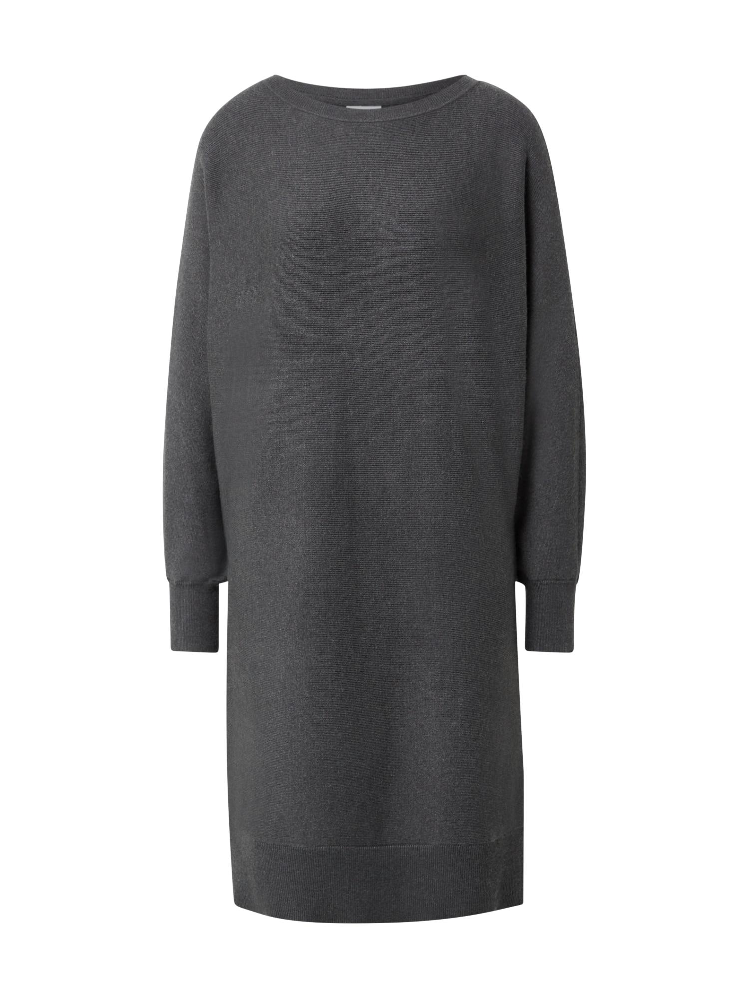 Noisy may Megzta suknelė tamsiai pilka
