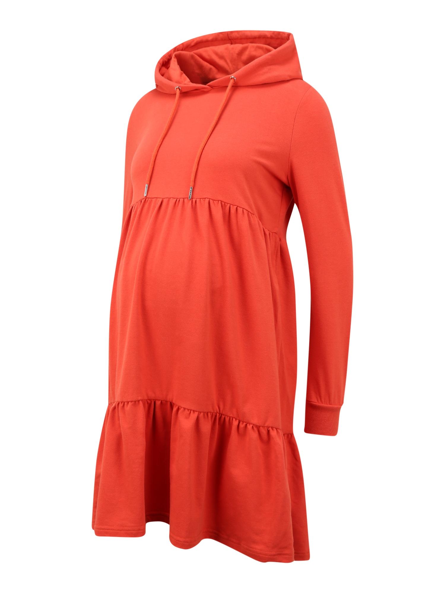 MAMALICIOUS Suknelė 'JOANNE' oranžinė
