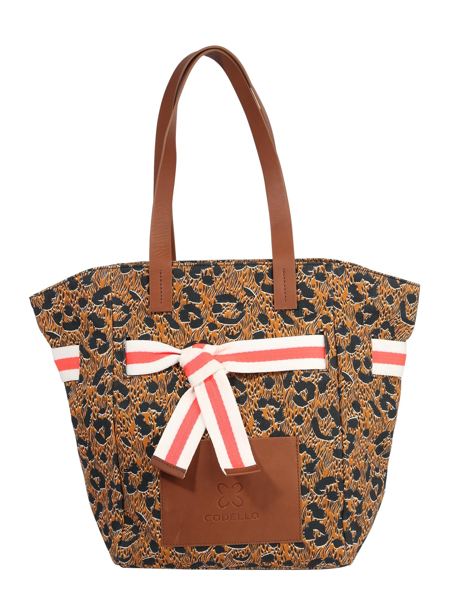 CODELLO Pirkinių krepšys ruda