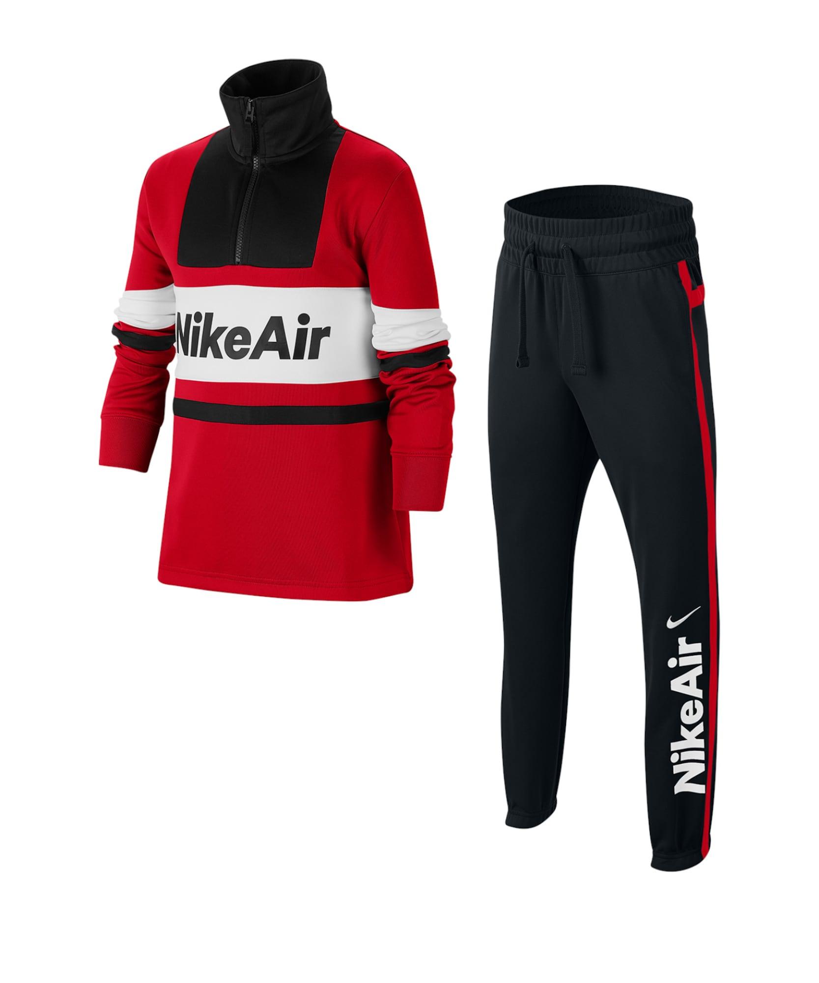 Nike Sportswear Rinkinys balta / juoda / raudona