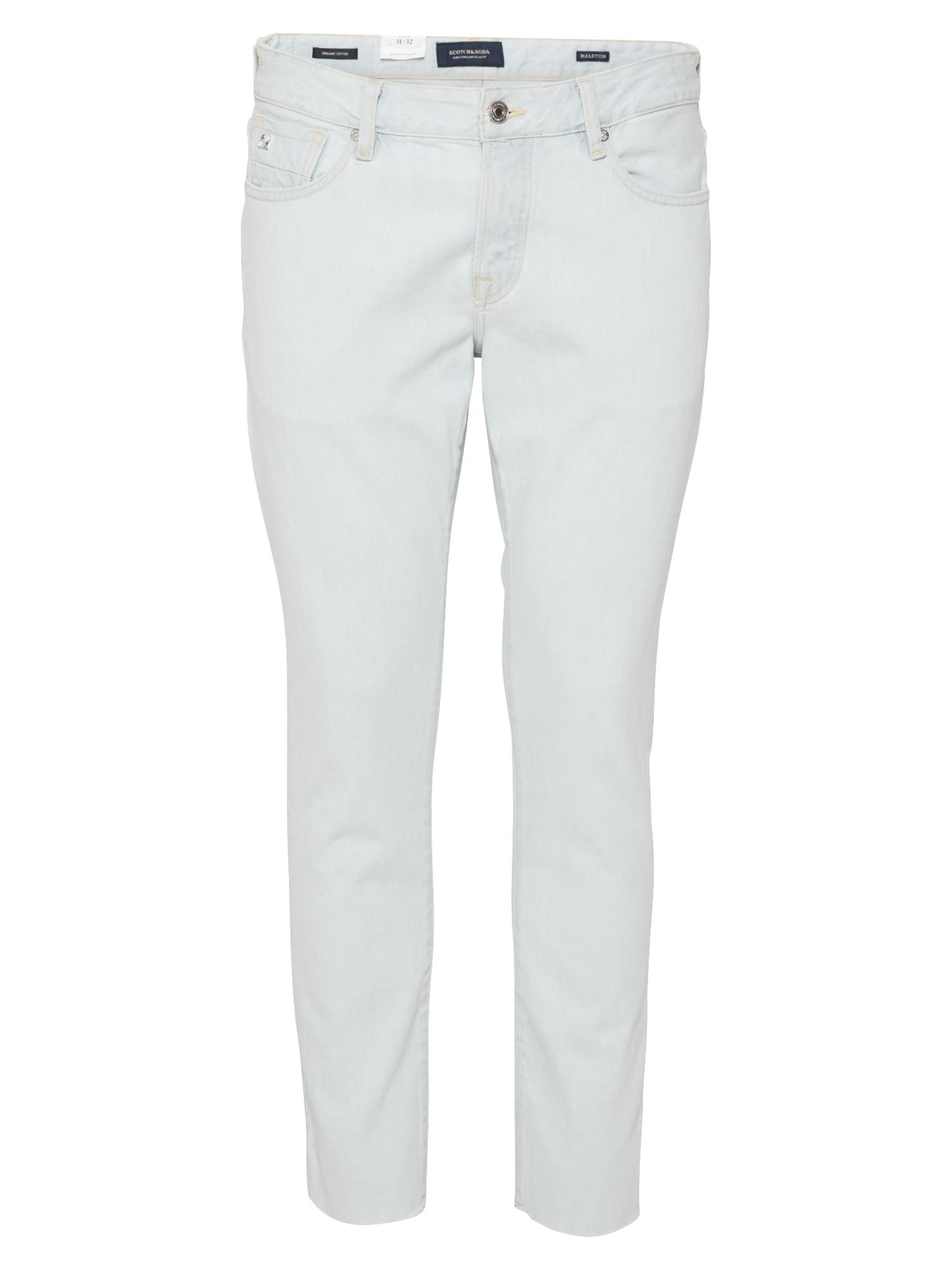 SCOTCH & SODA Džinsai balto džinso spalva