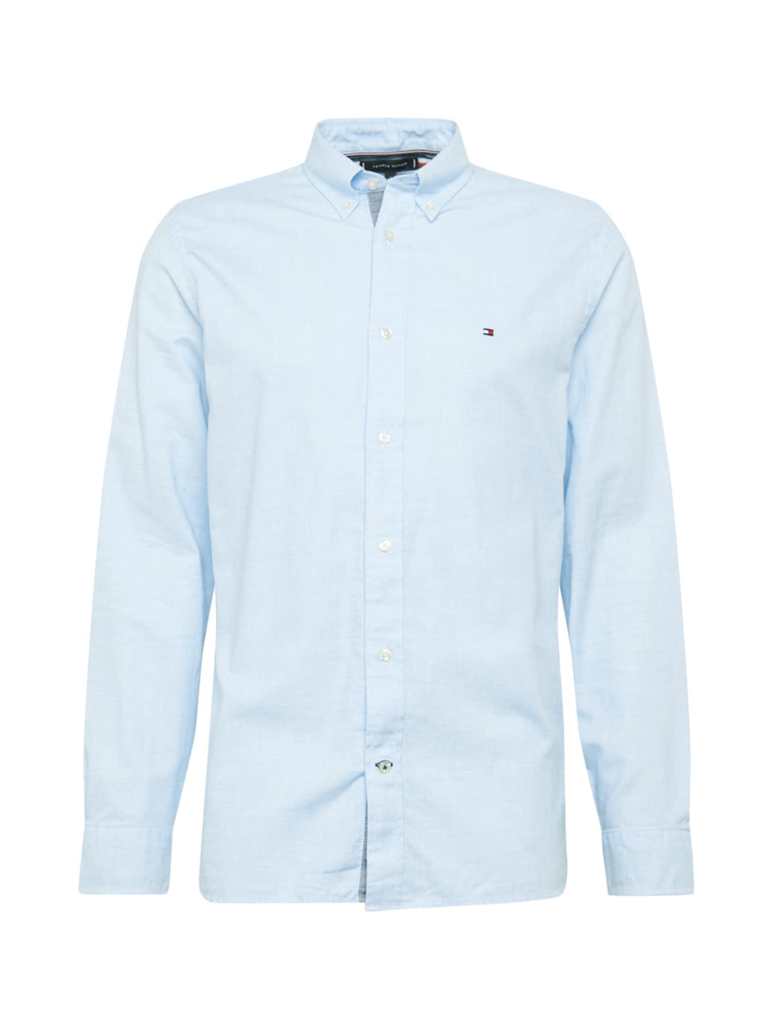 TOMMY HILFIGER Marškiniai dangaus žydra