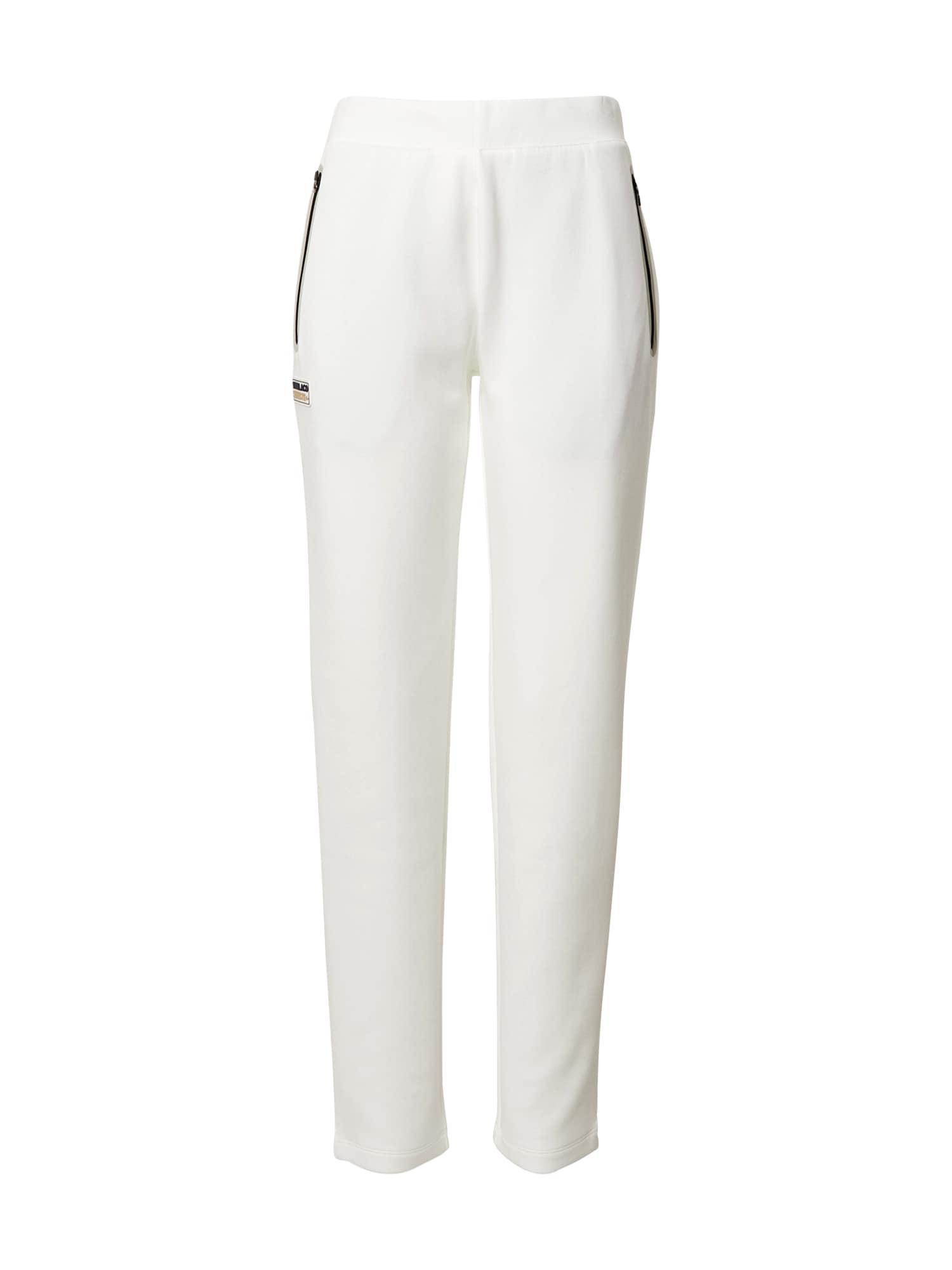 Lacoste Sport Sportovní kalhoty  přírodní bílá / starobéžová / černá