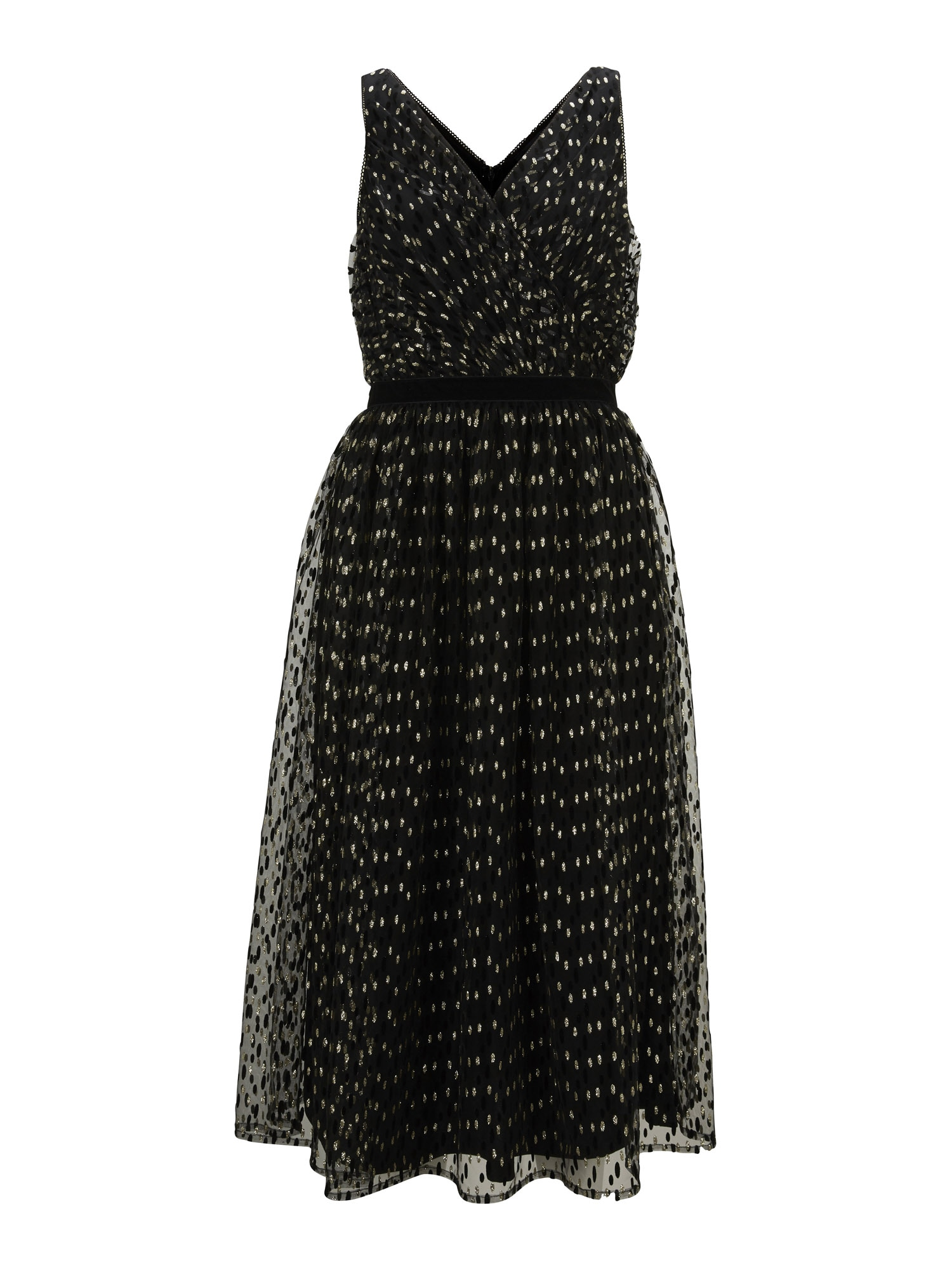 Patrizia Dini by heine Kokteilinė suknelė juoda / auksas